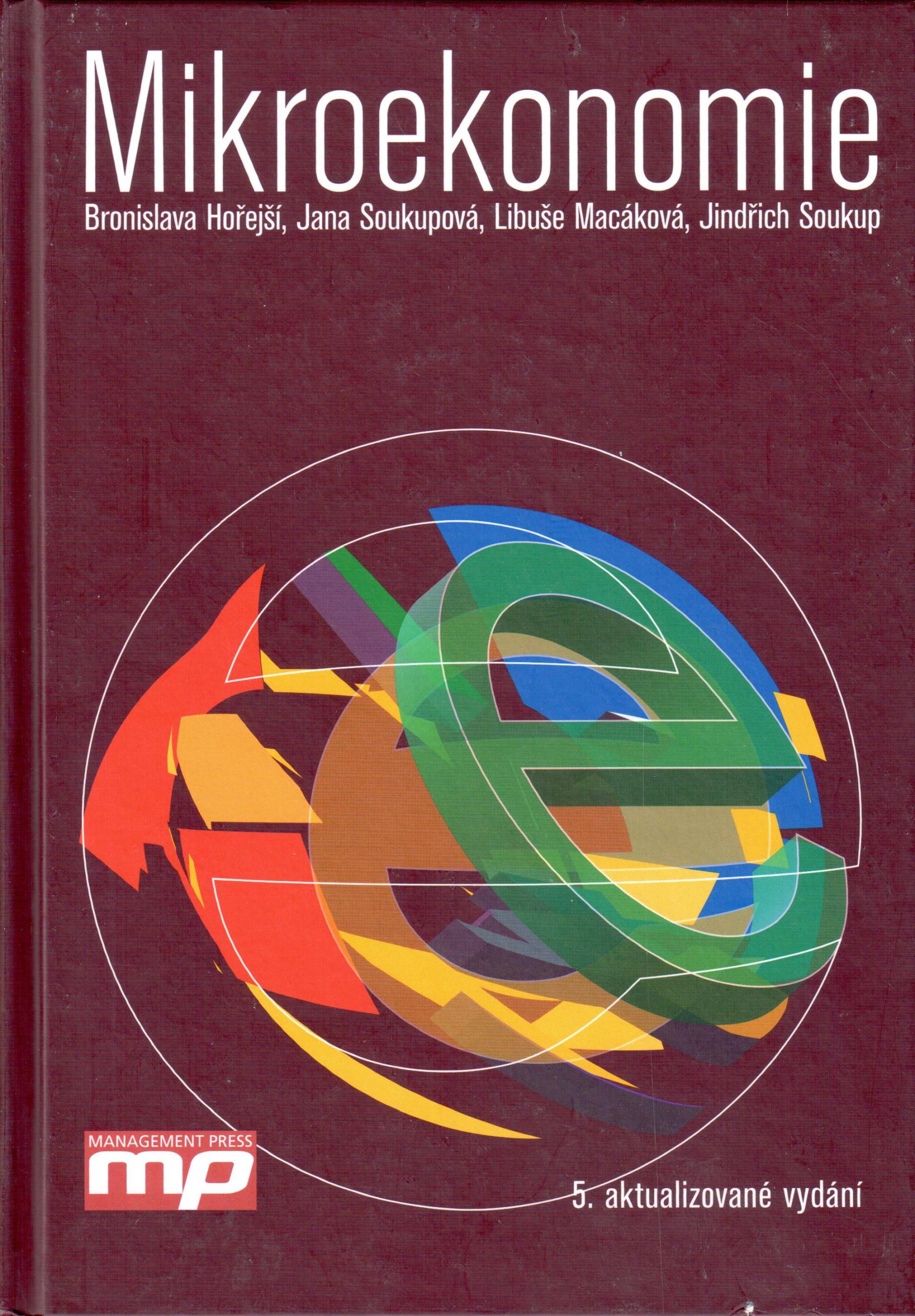 Mikroekonomie - Náhled učebnice