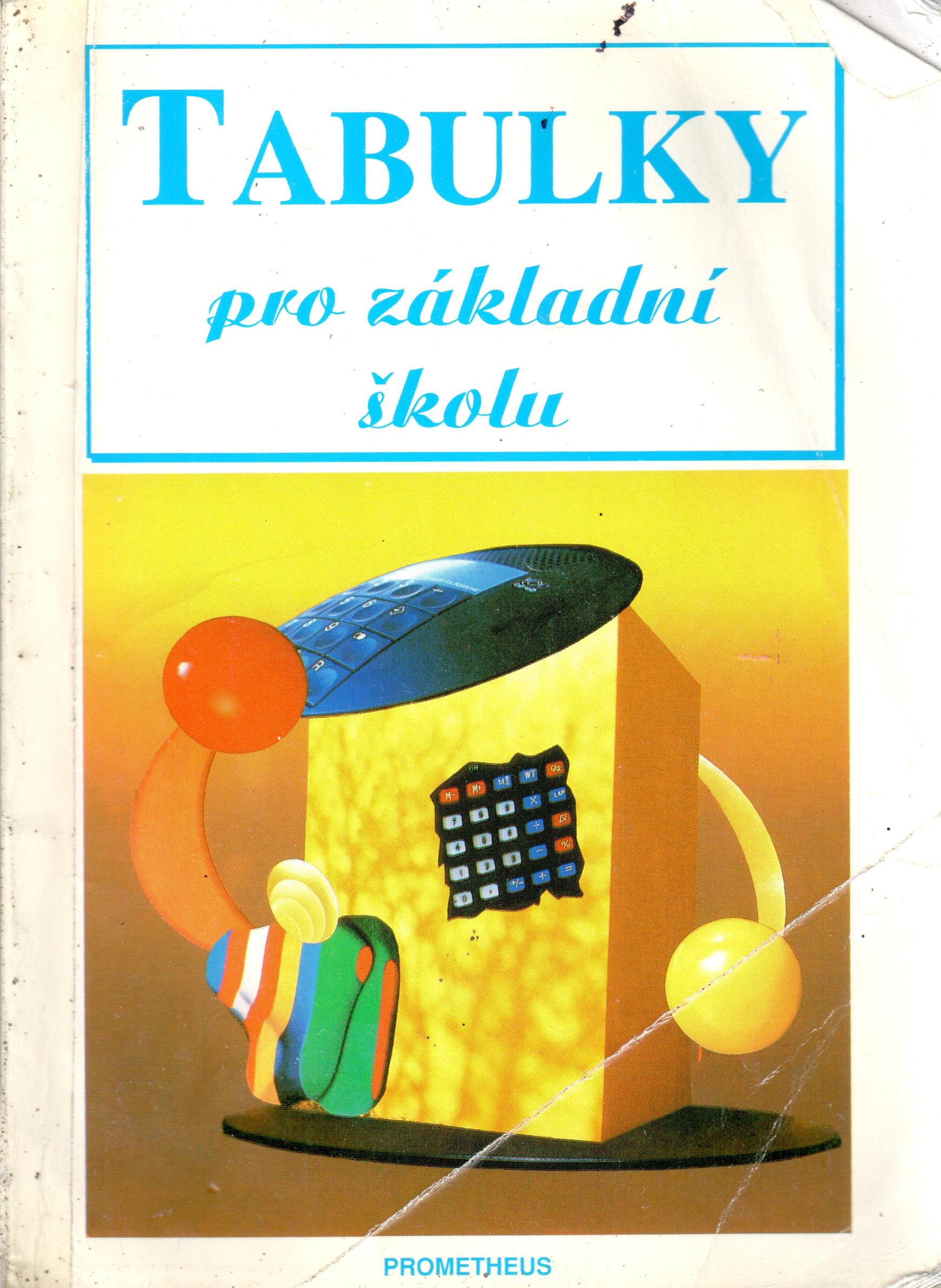 Tabulky pro základní školu - Náhled učebnice