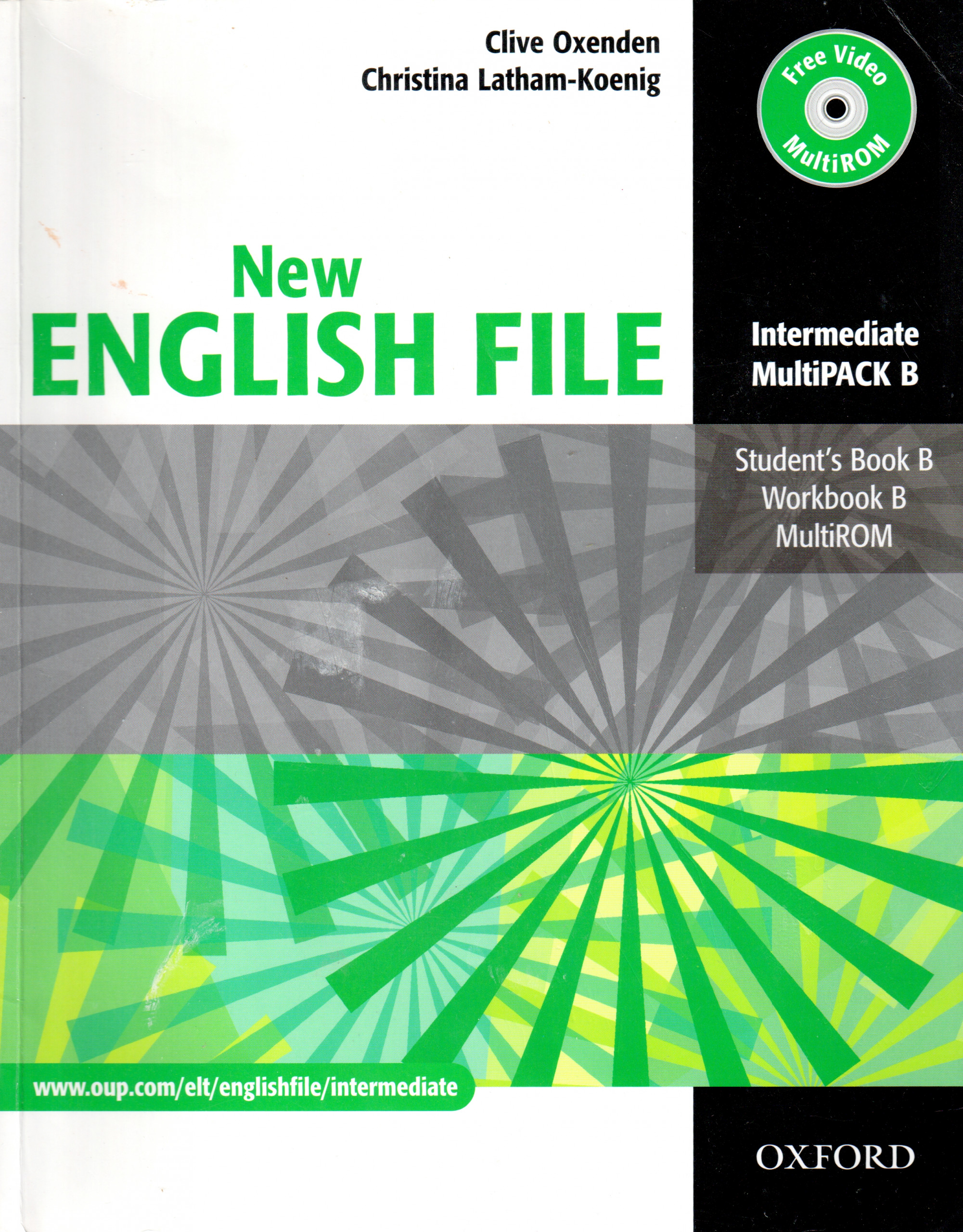 New English File: Intermediate (Multipack B) - Náhled učebnice