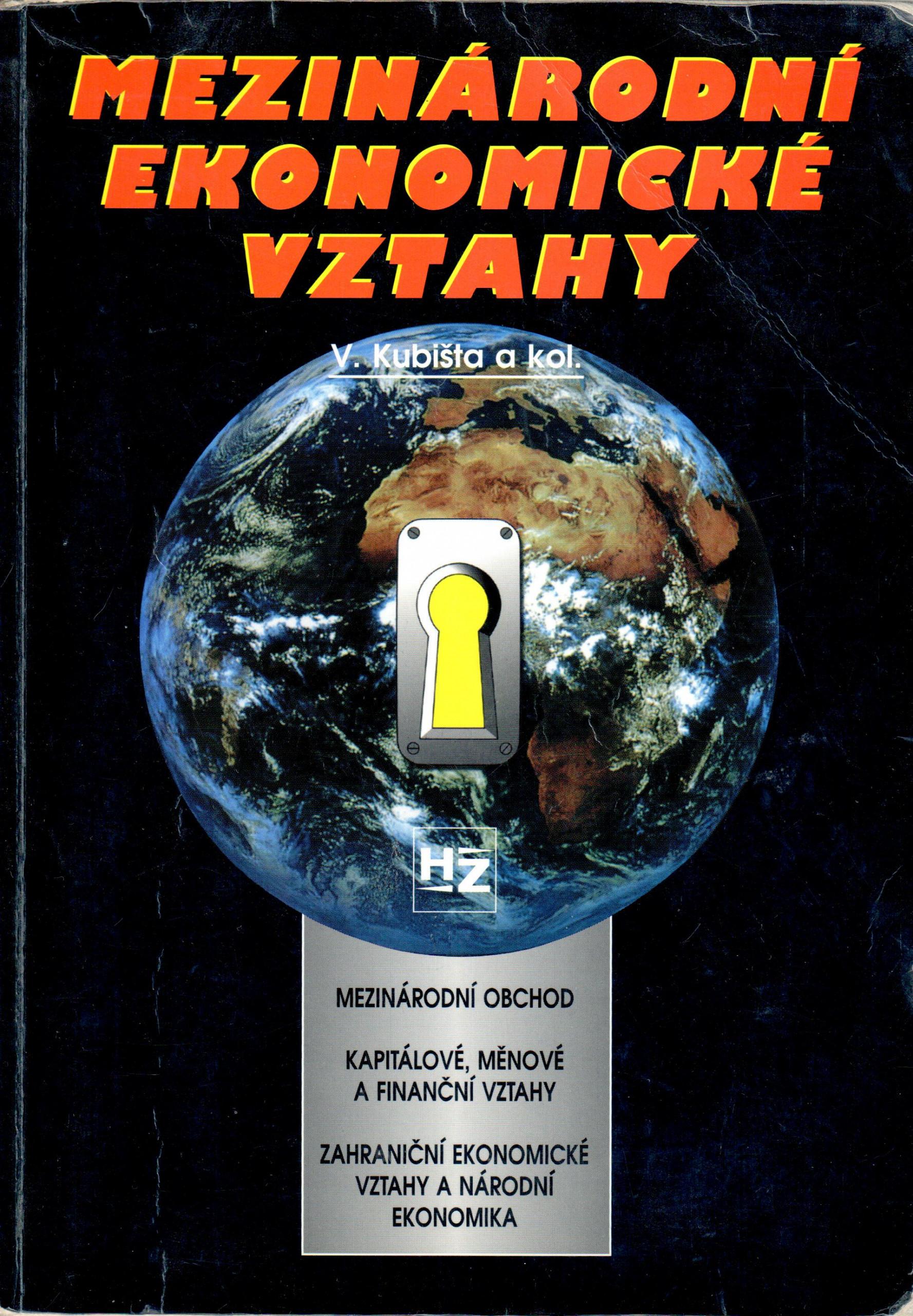 Mezinárodní ekonomické vztahy - Náhled učebnice