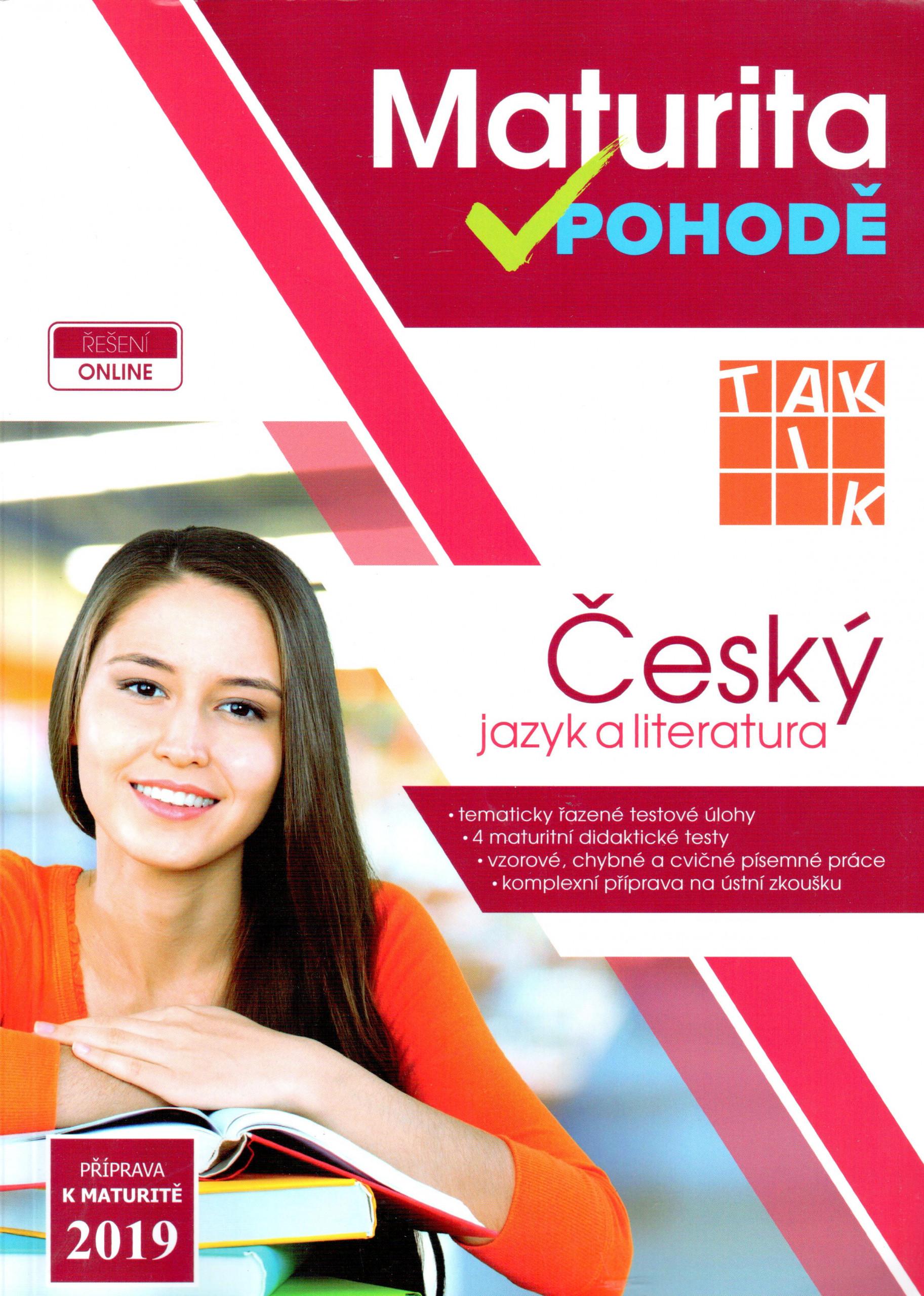 Maturita v pohodě: Český jazyk a literatura 2019 - Náhled učebnice