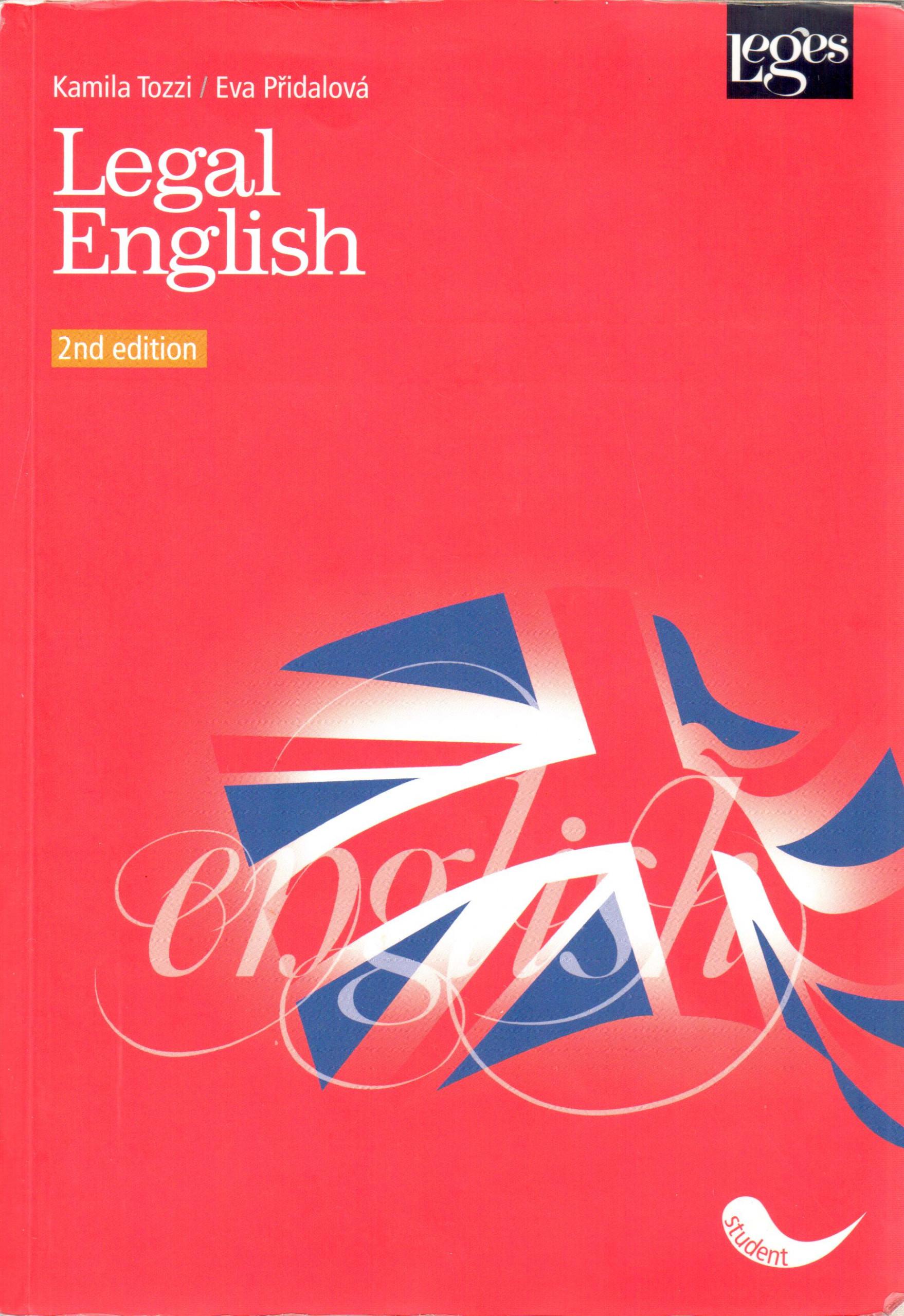 Legal English - Náhled učebnice