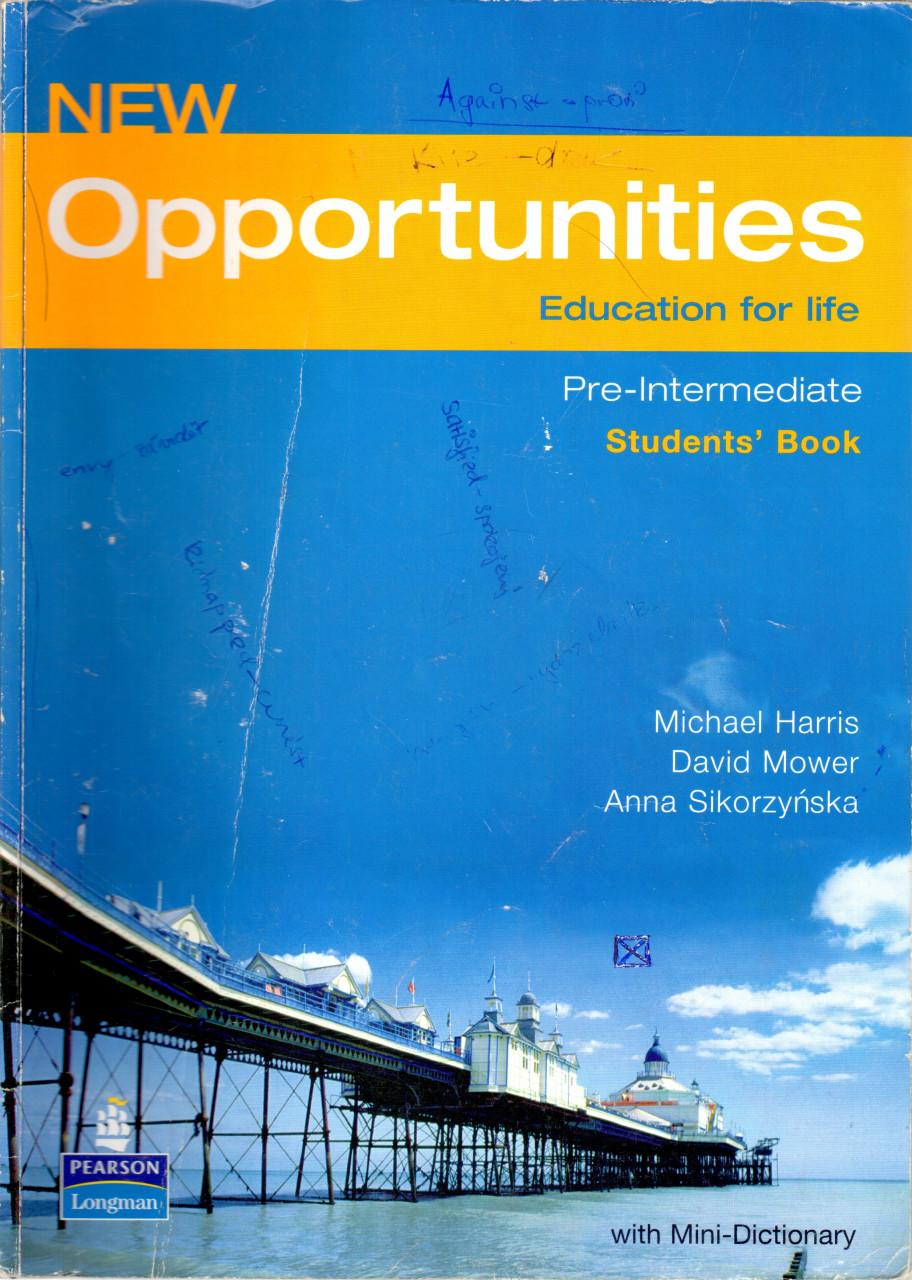 New Opportunities: Pre-intermediate Student's Book