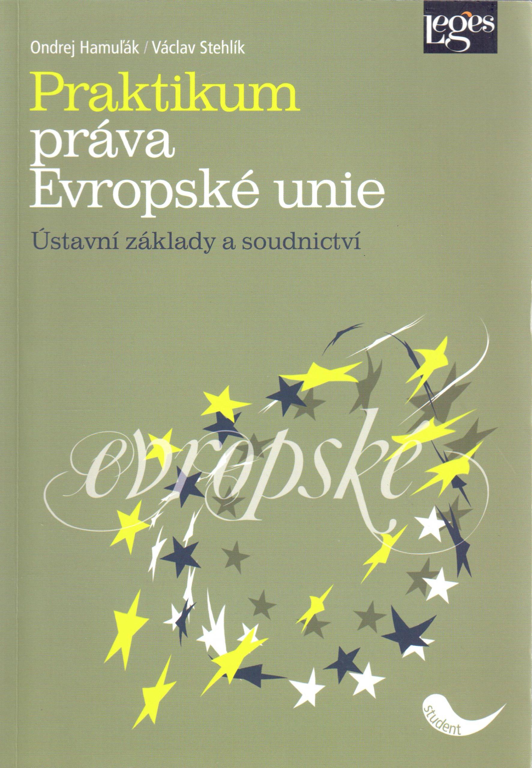 Praktikum práva Evropské unie - Náhled učebnice