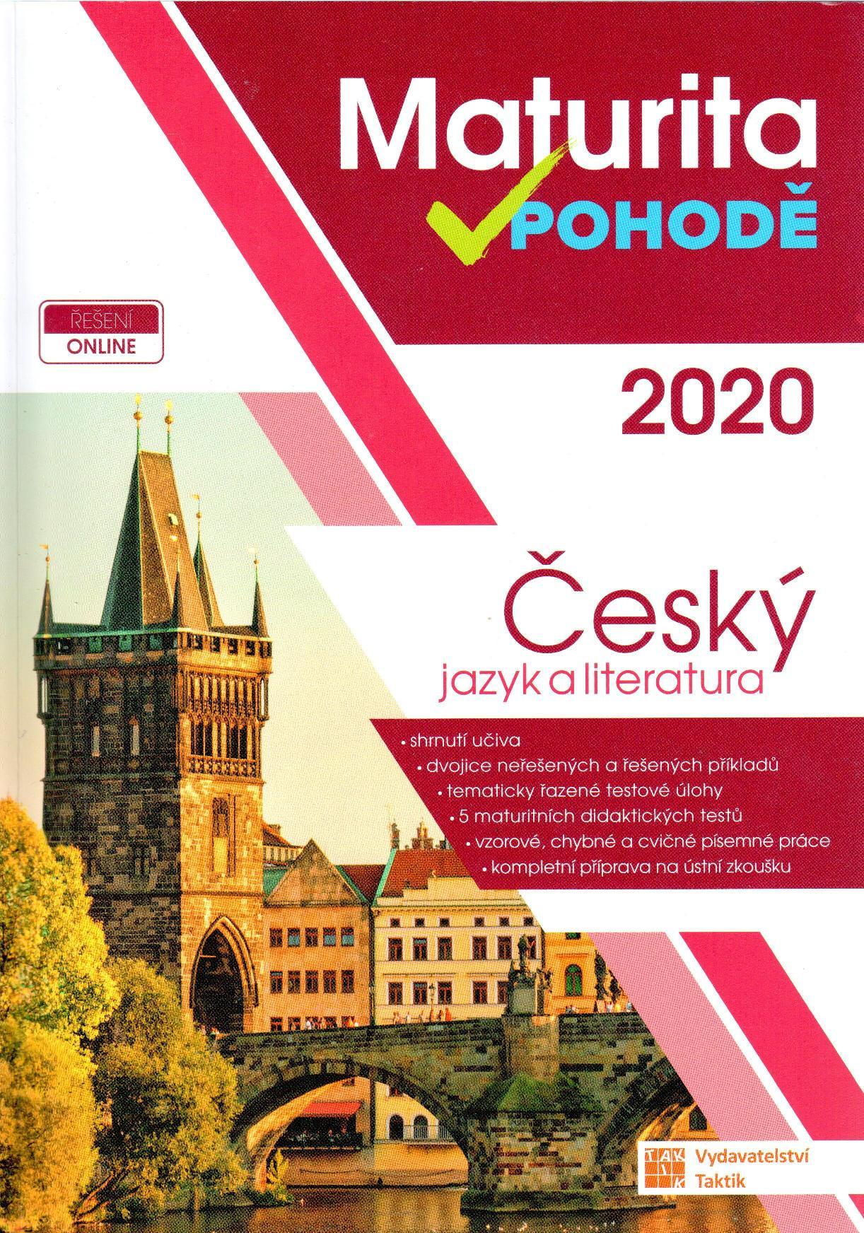 Maturita v pohodě 2020: Český jazyk a literatura - Náhled učebnice