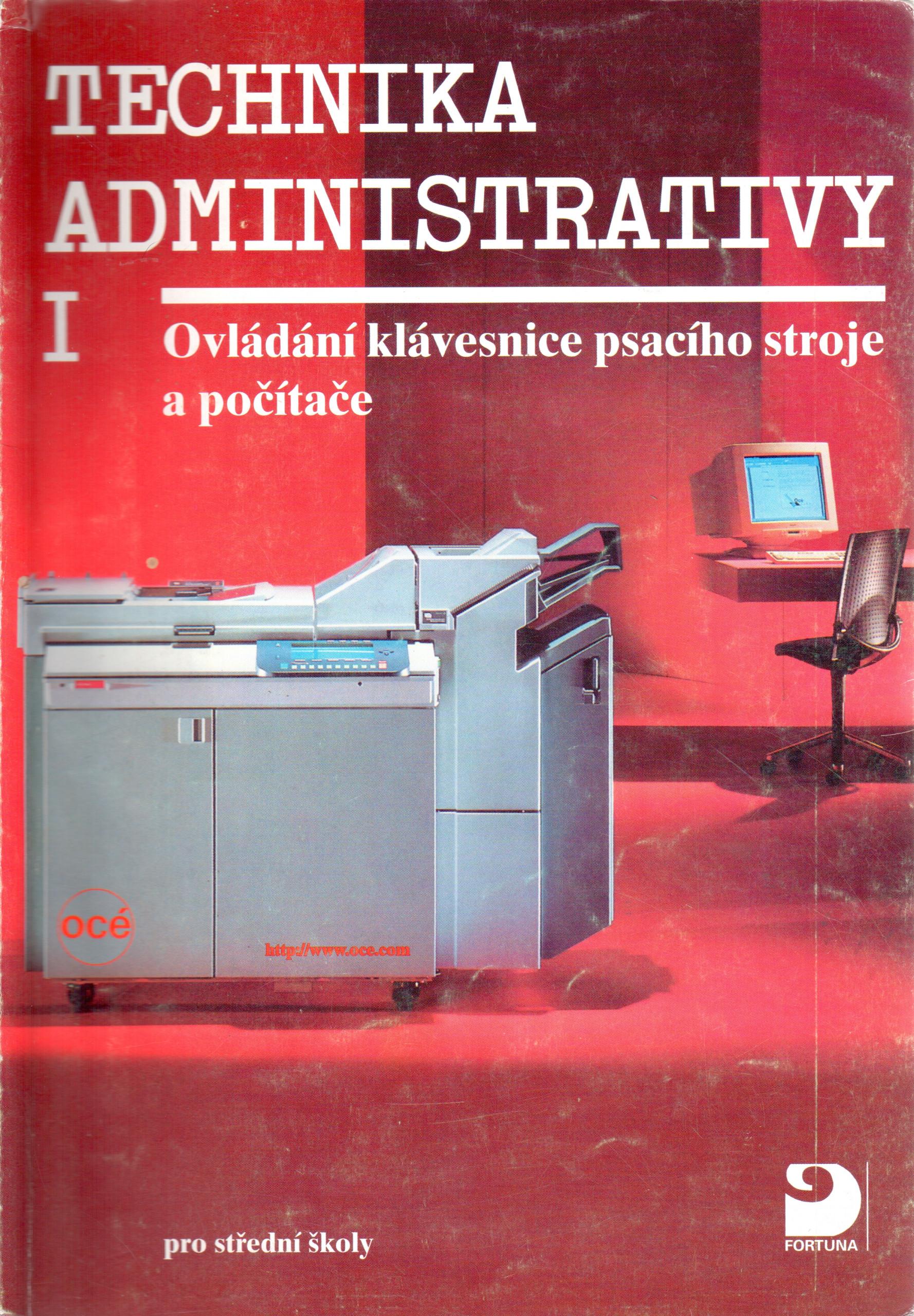 Technika administrativy I pro střední školy - Náhled učebnice