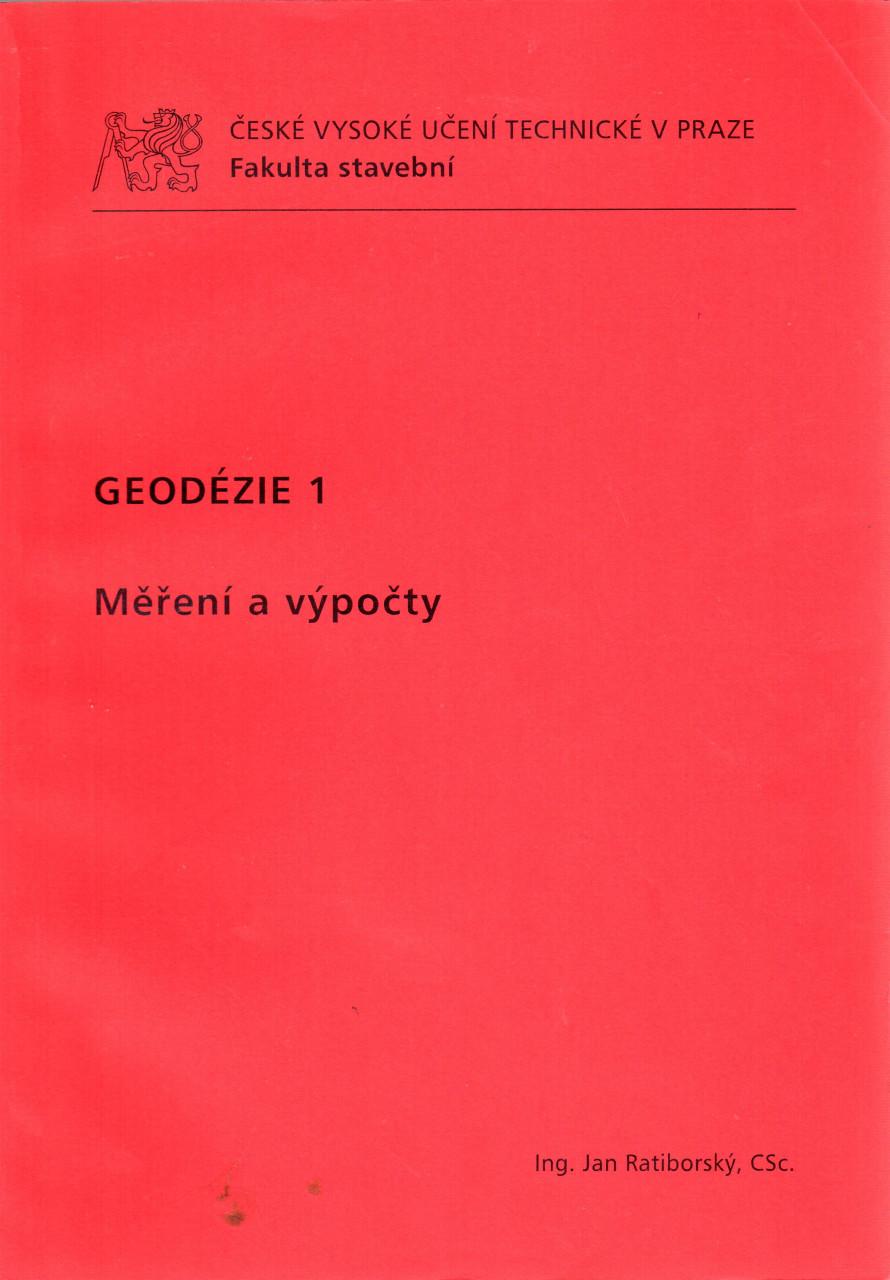 Geodézie 1: Měření a výpočty