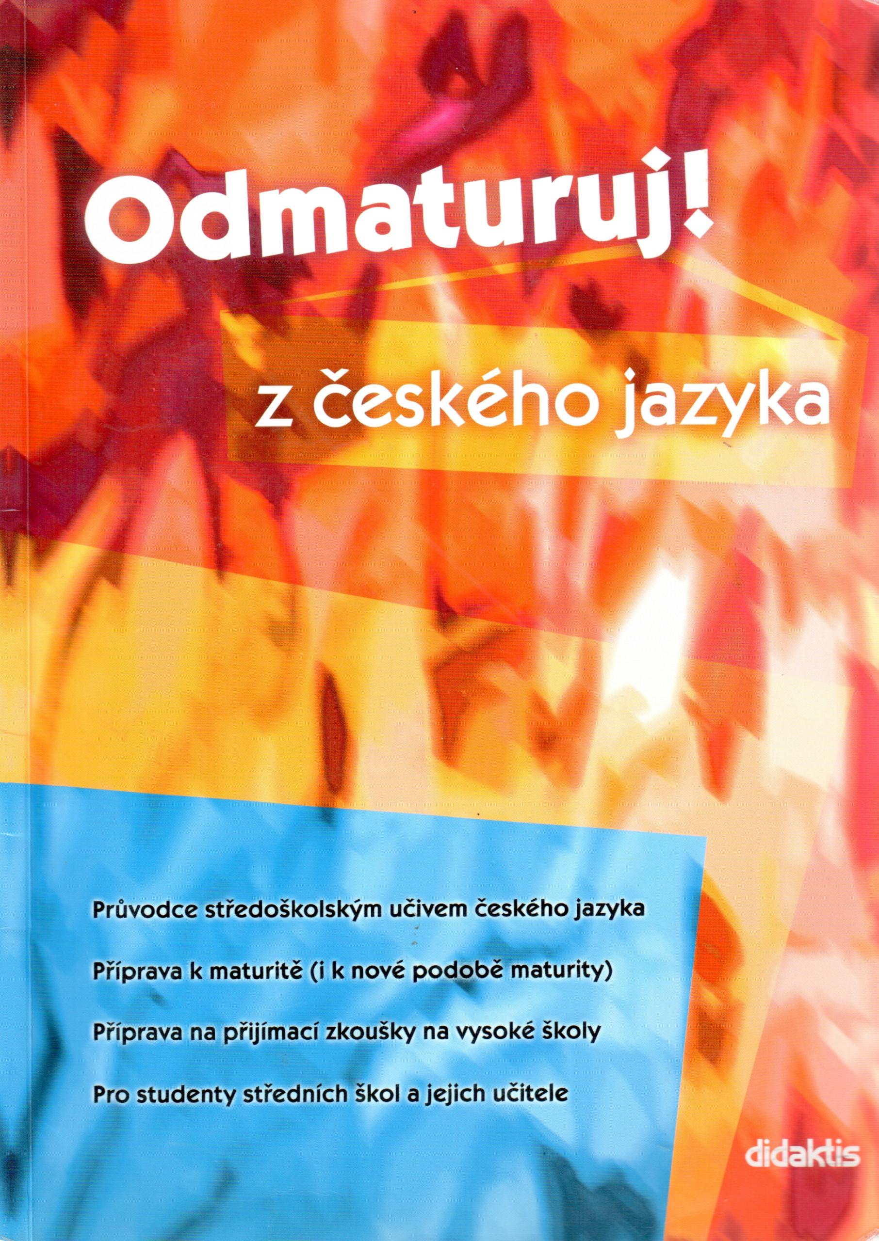 Odmaturuj! z českého jazyka - Náhled učebnice