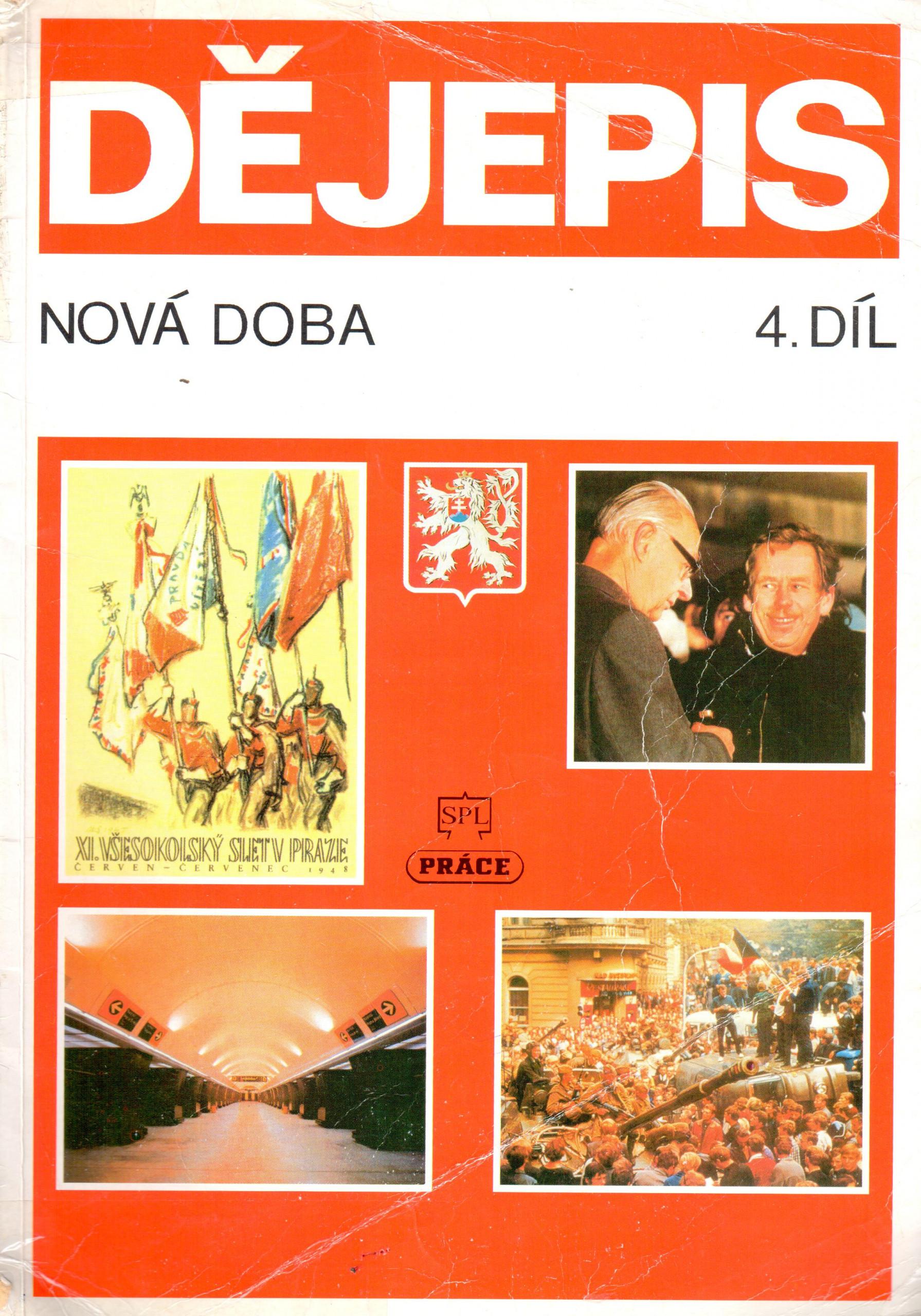 Dějepis. Nová doba. 4. díl. Československo a svět, 1945 – 1989 - Náhled učebnice