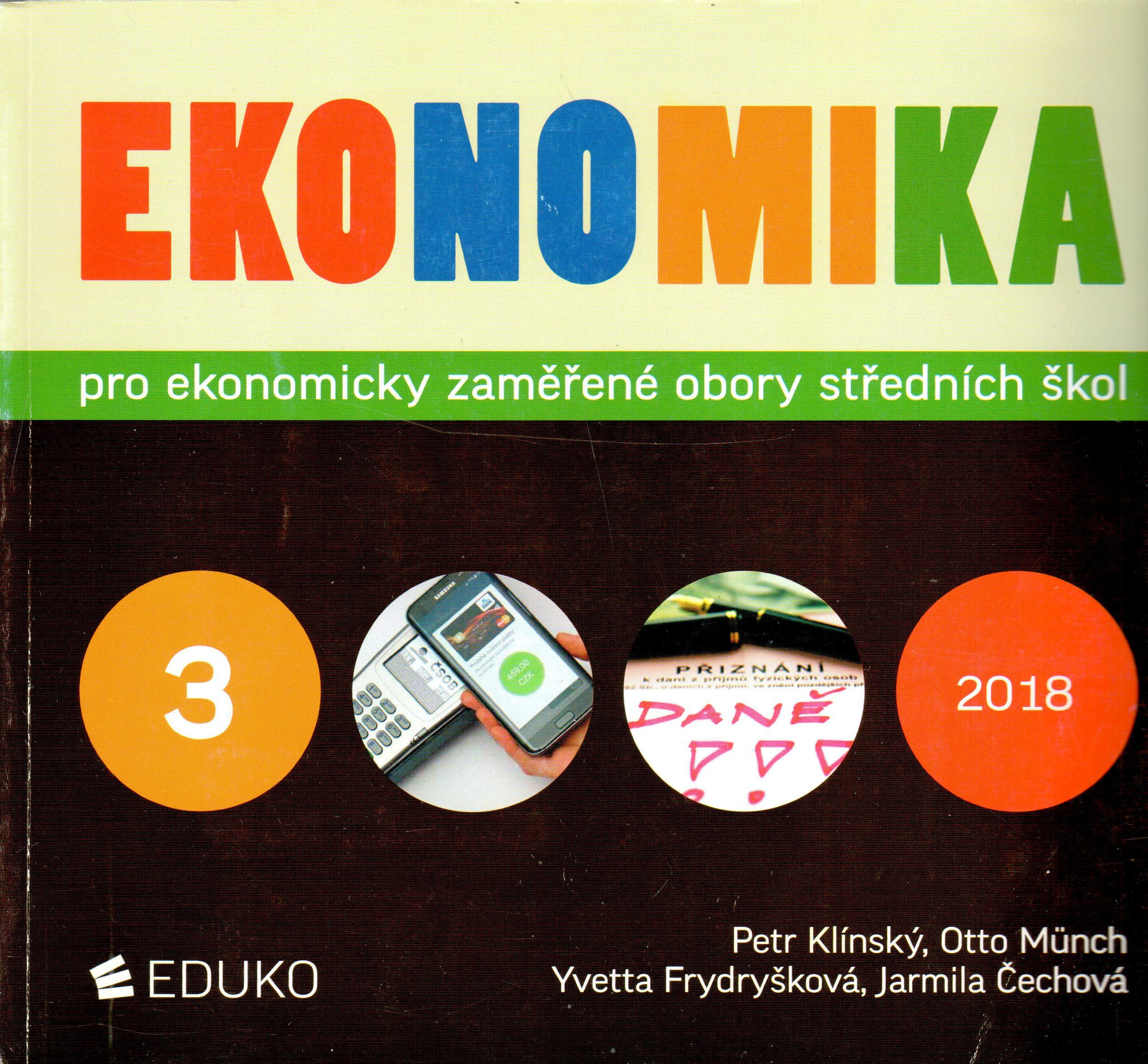 Ekonomika 3 pro ekonomicky zaměřené obory SŠ - Náhled učebnice