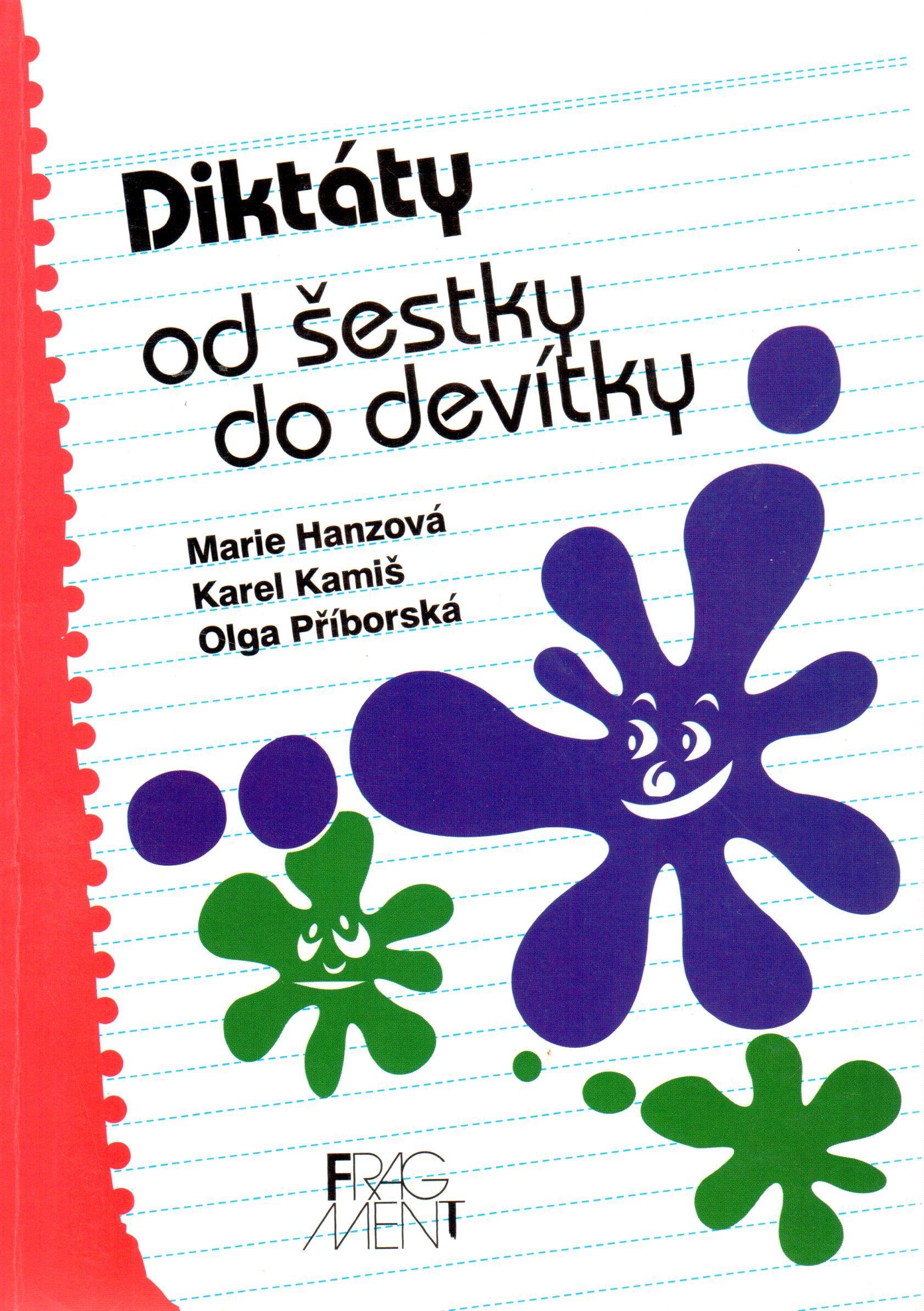Diktáty od šestky do devítky - Náhled učebnice