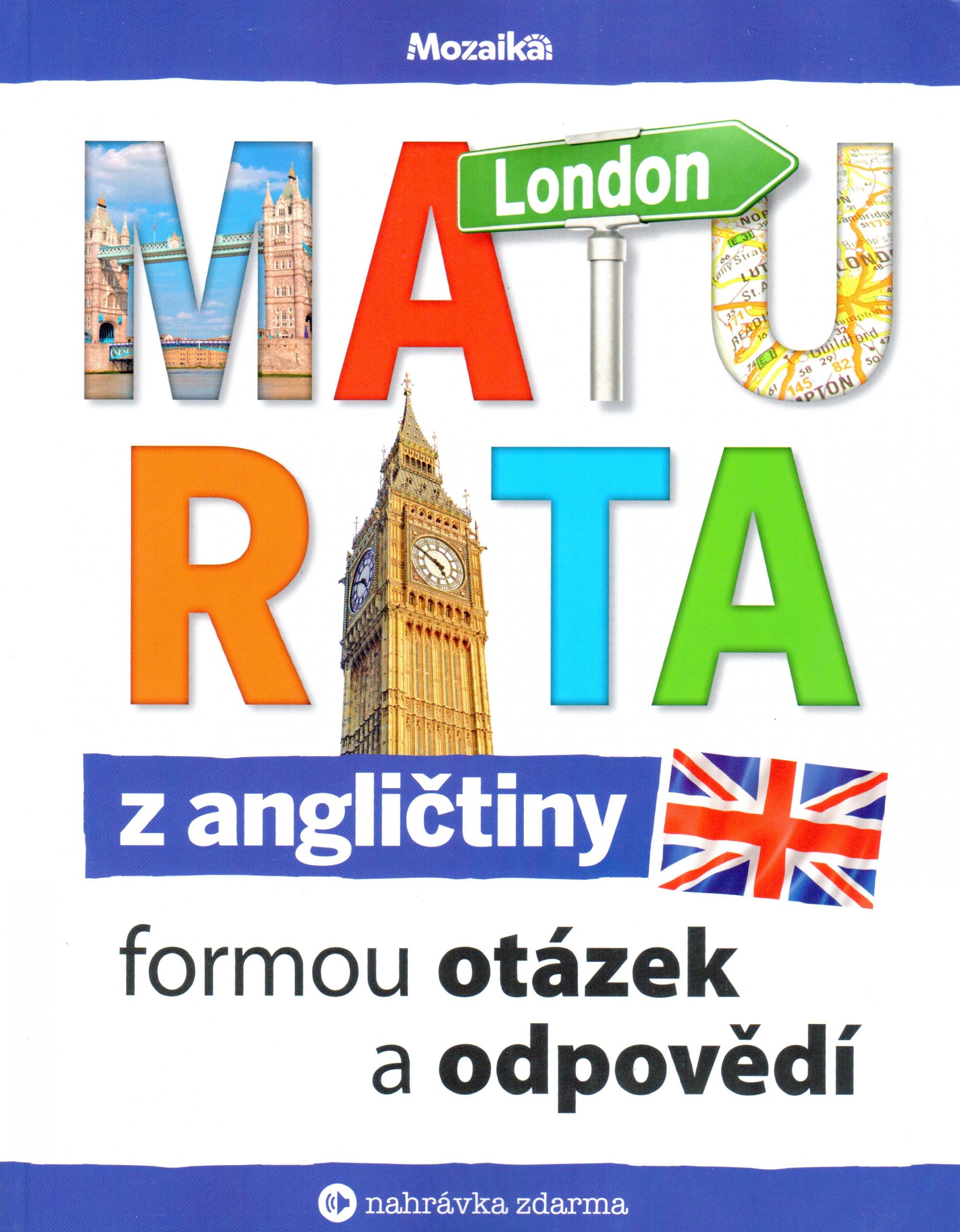 Maturita z angličtiny formou otázek a odpovědí - Náhled učebnice