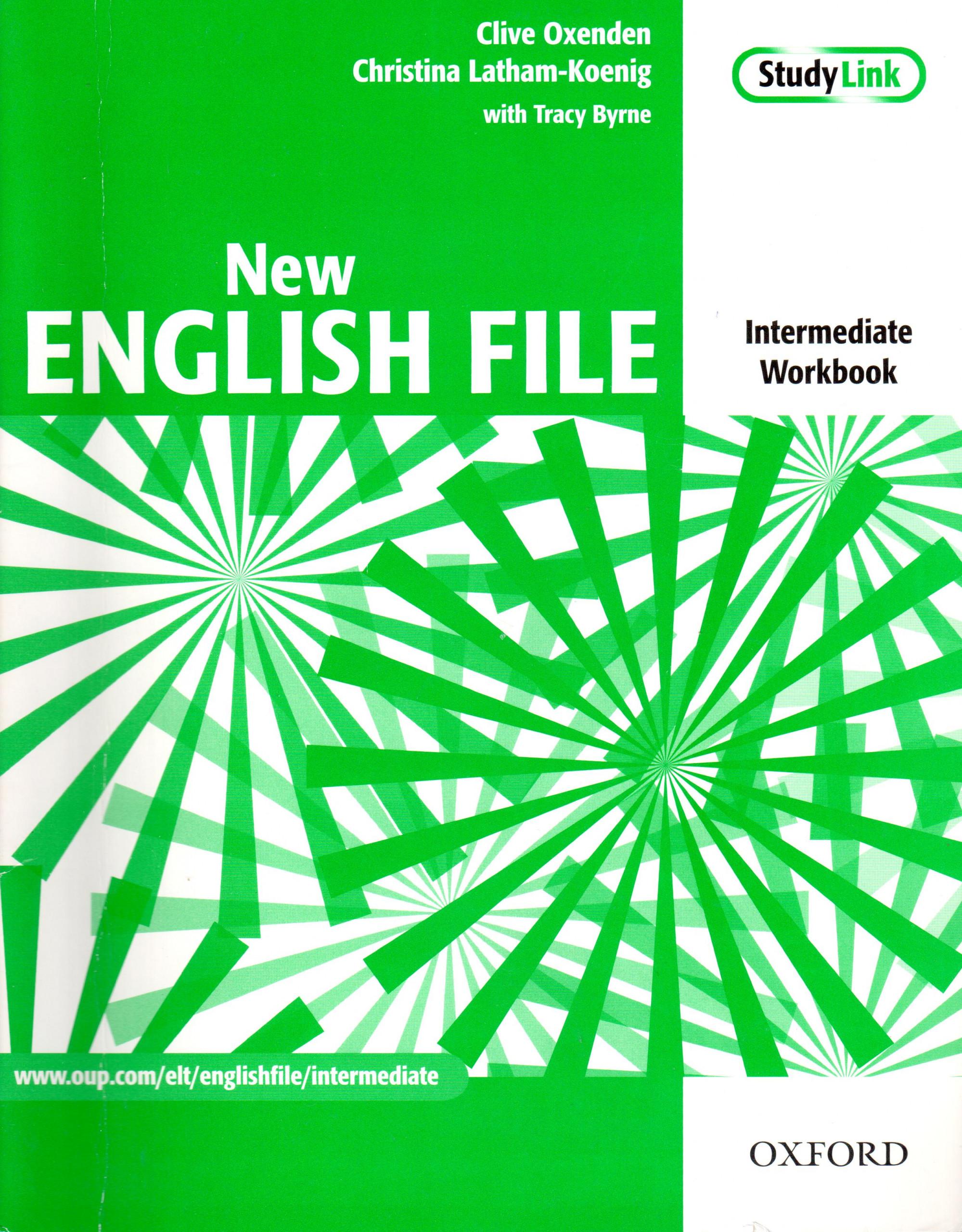 New English File: Intermediate Workbook - Náhled učebnice