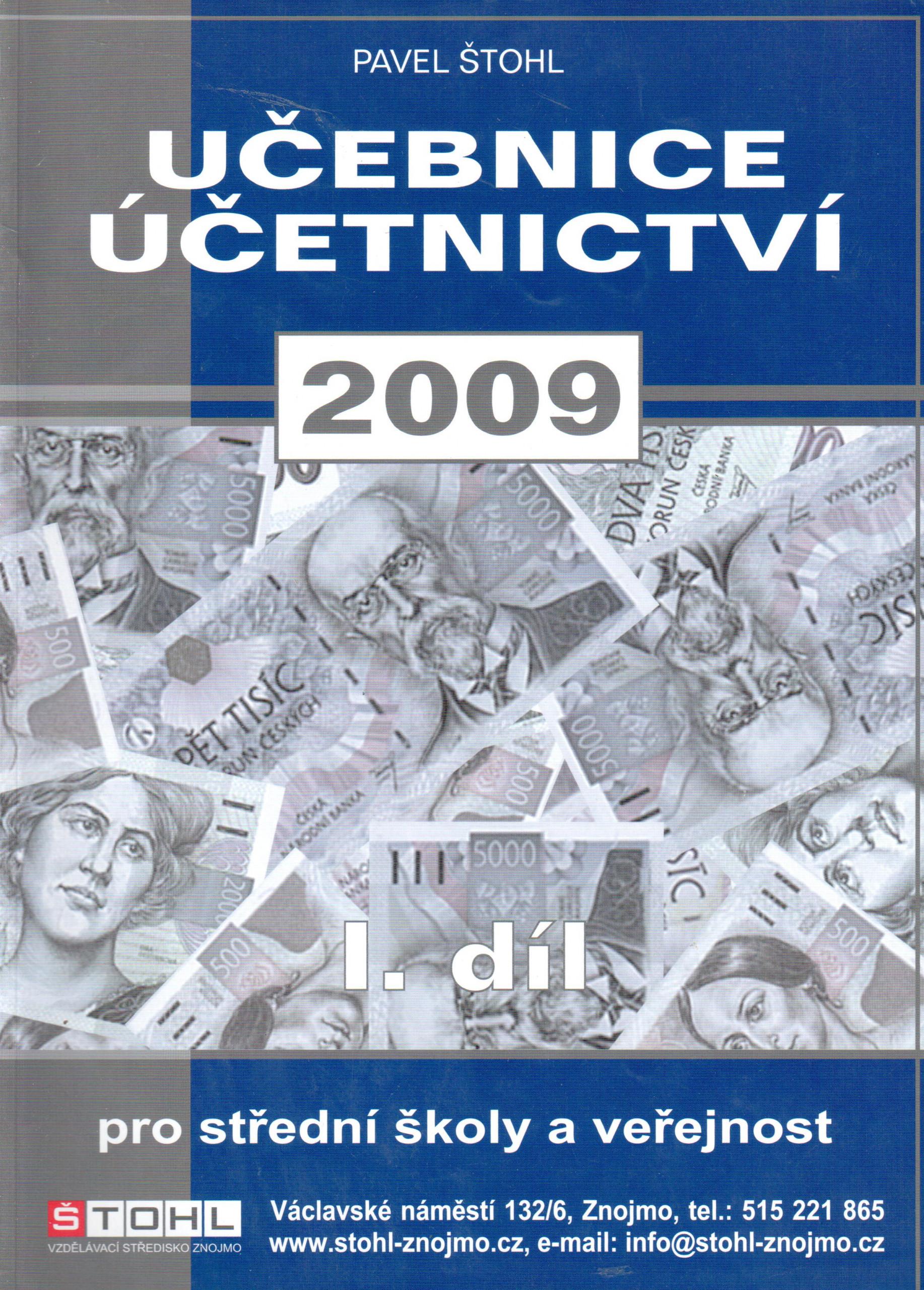 Učebnice účetnictví 2009 (1. díl) - Náhled učebnice