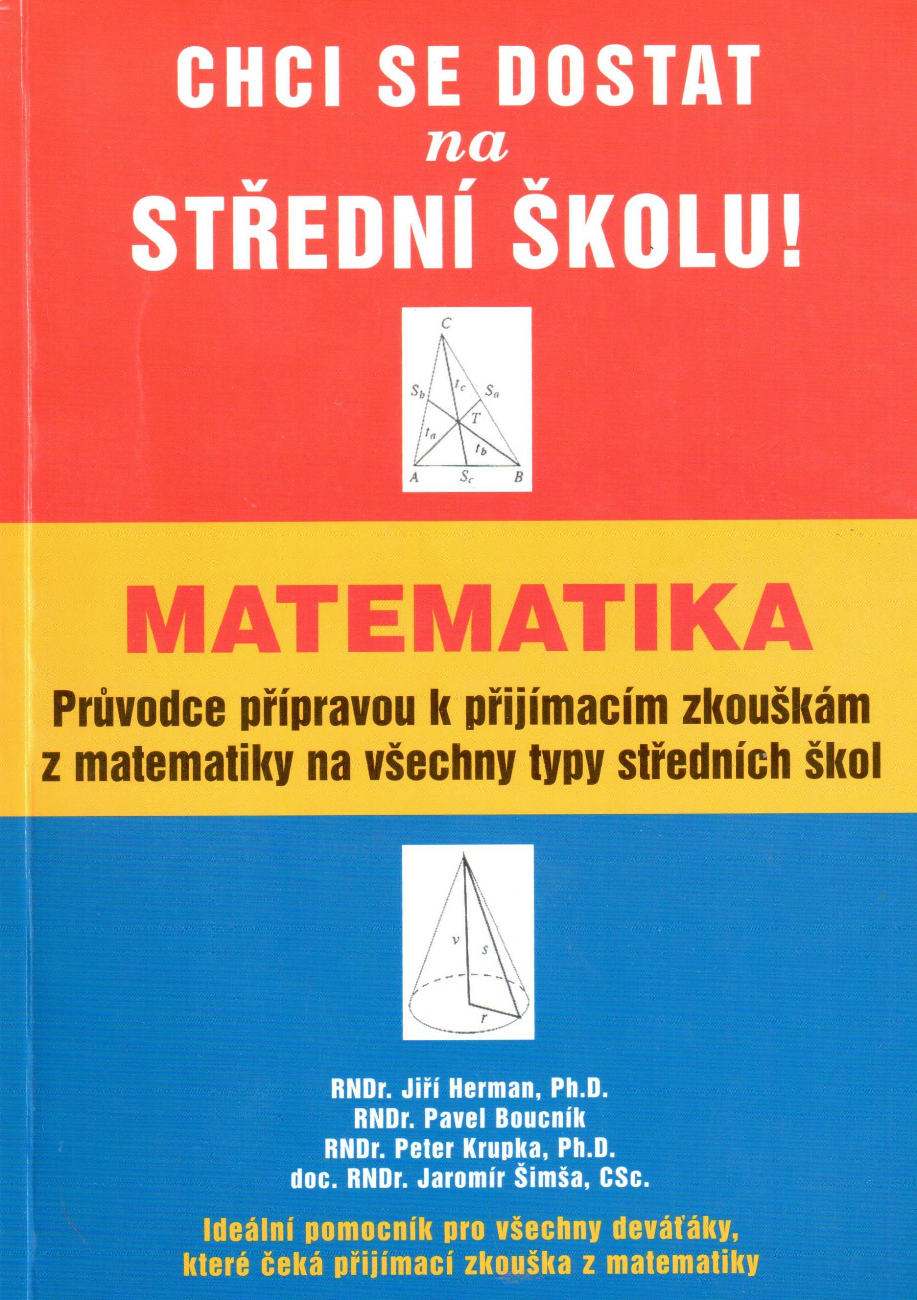 Matematika, průvodce přípravou k přijímacím zkouškám z matematiky na všechny typy středních škol - Náhled učebnice