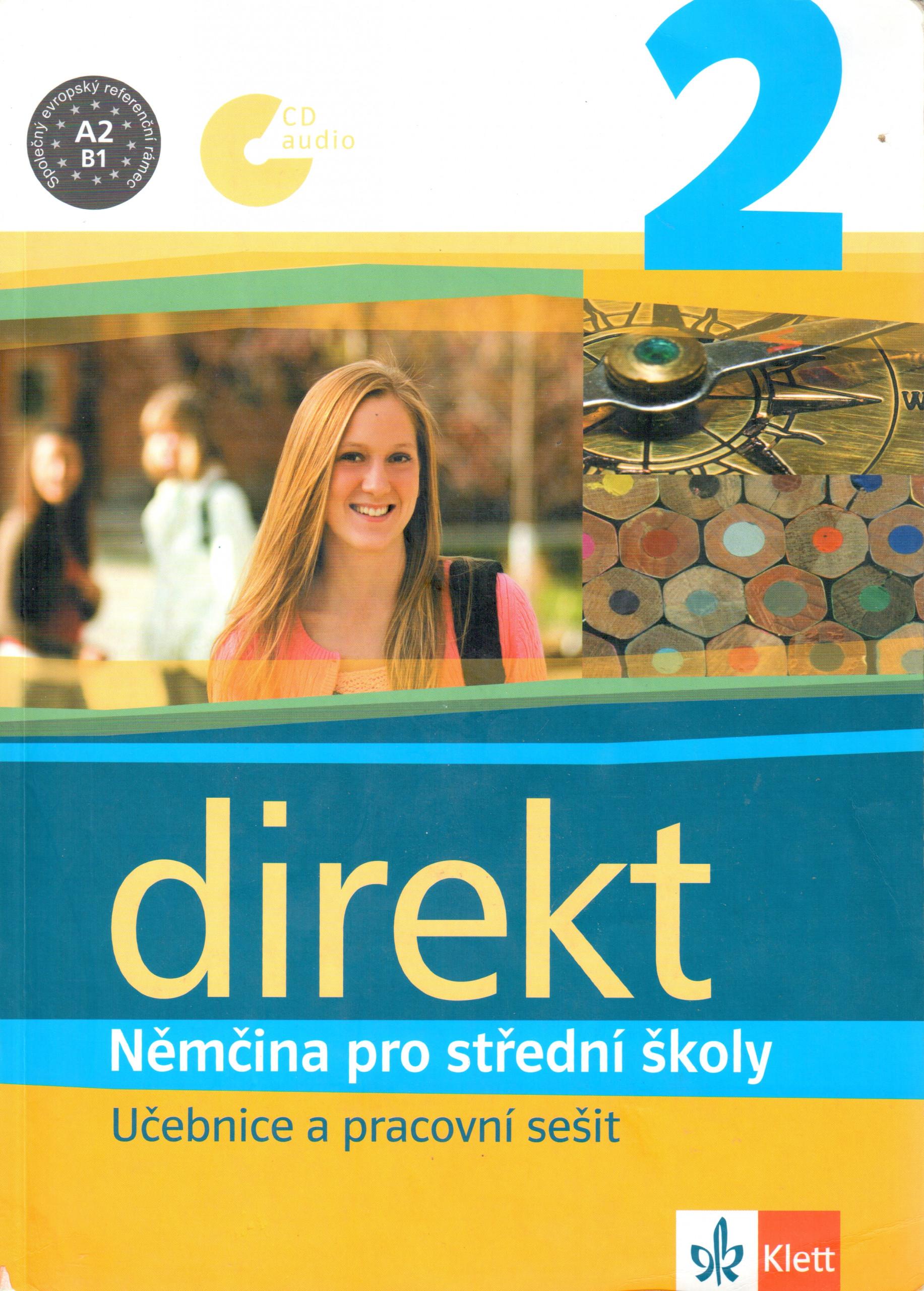 Direkt 2: Učebnice a pracovní sešit - Náhled učebnice