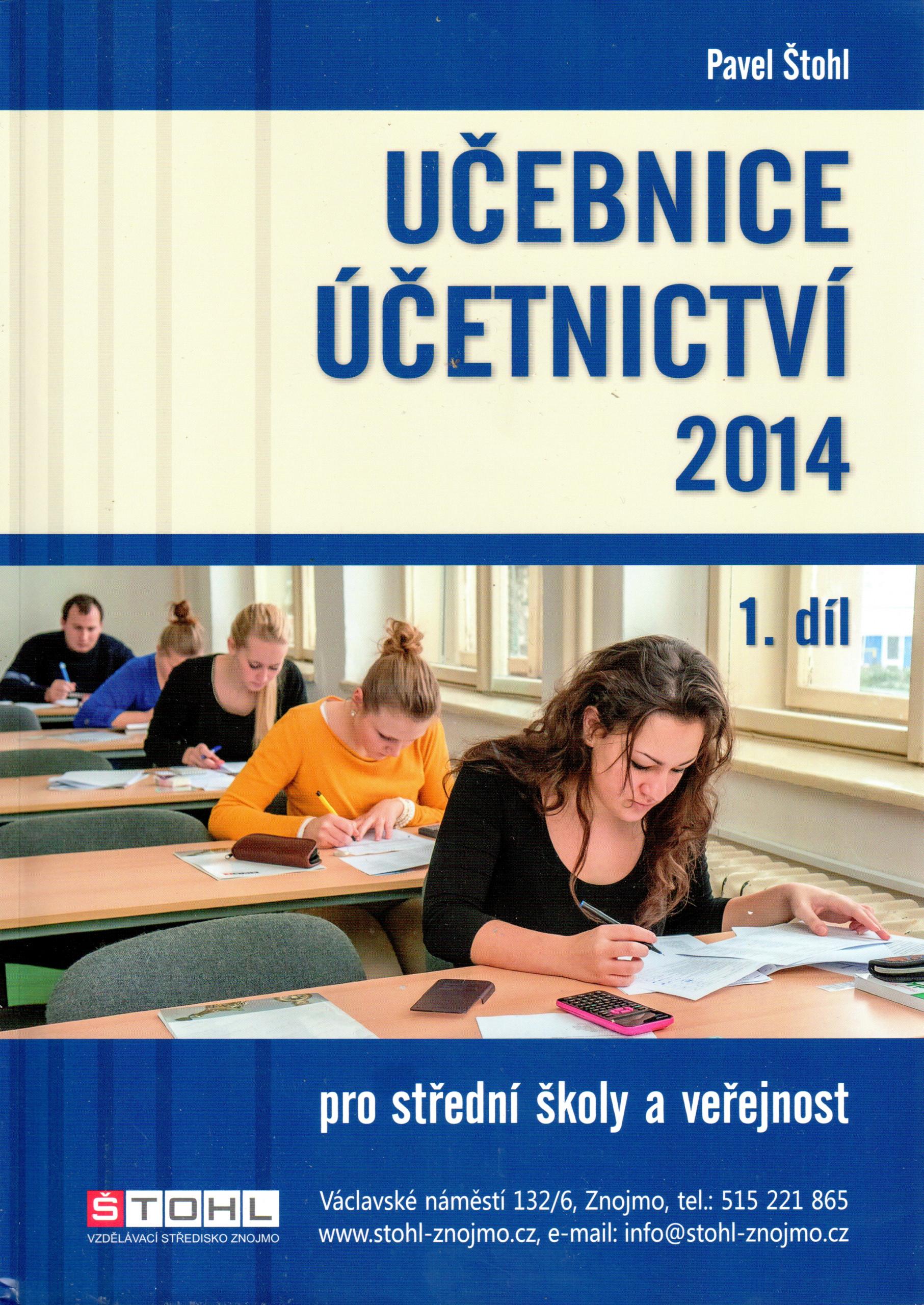 Učebnice účetnictví 2014 (1. díl) - Náhled učebnice