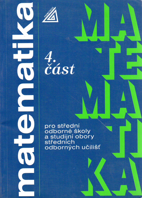 Matematika pro střední odborné školy a studijní obory středních odborných učilišť (4. část) - Náhled učebnice