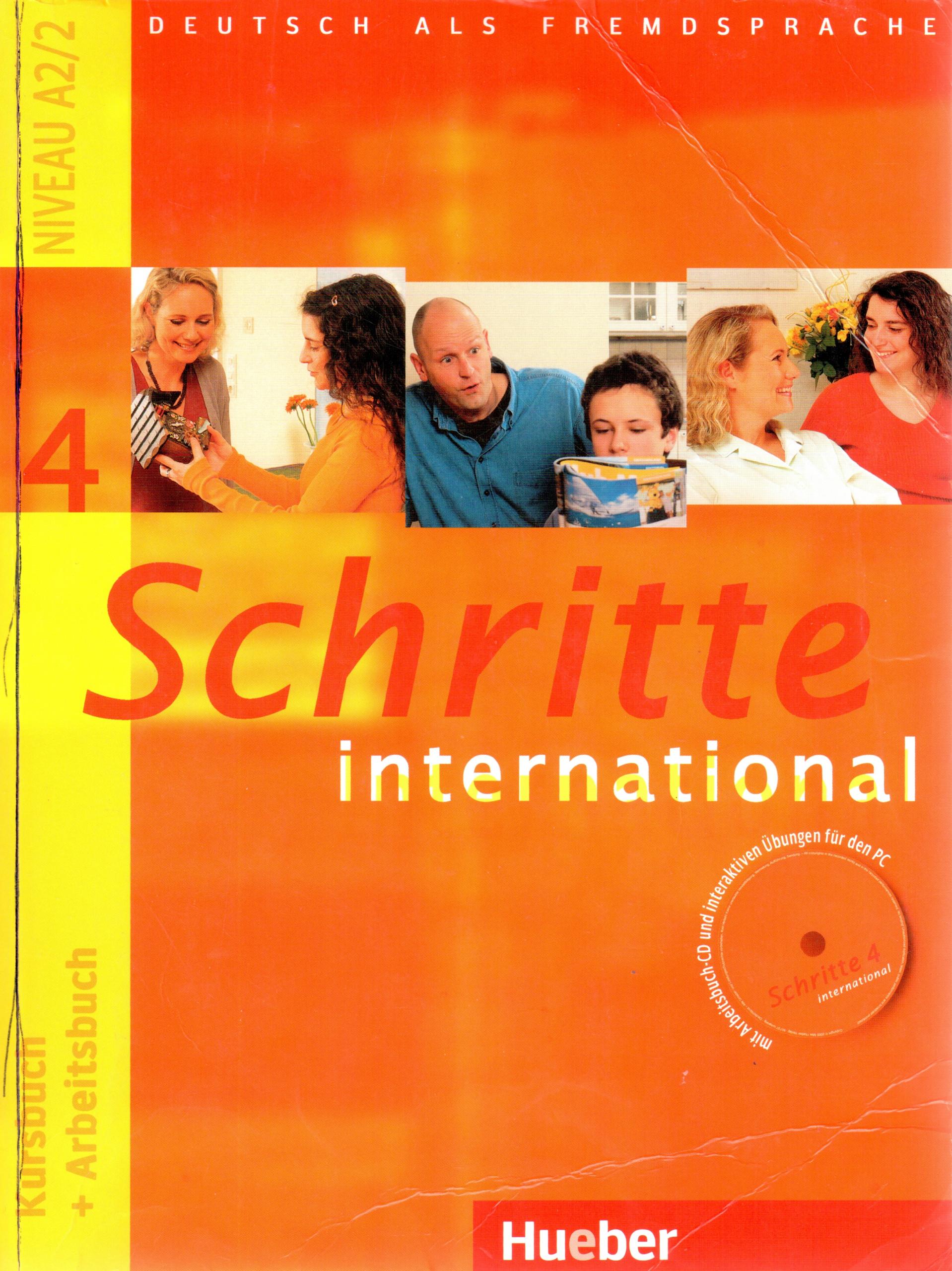 Schritte International 4: Kursbuch + Arbeitsbuch - Náhled učebnice