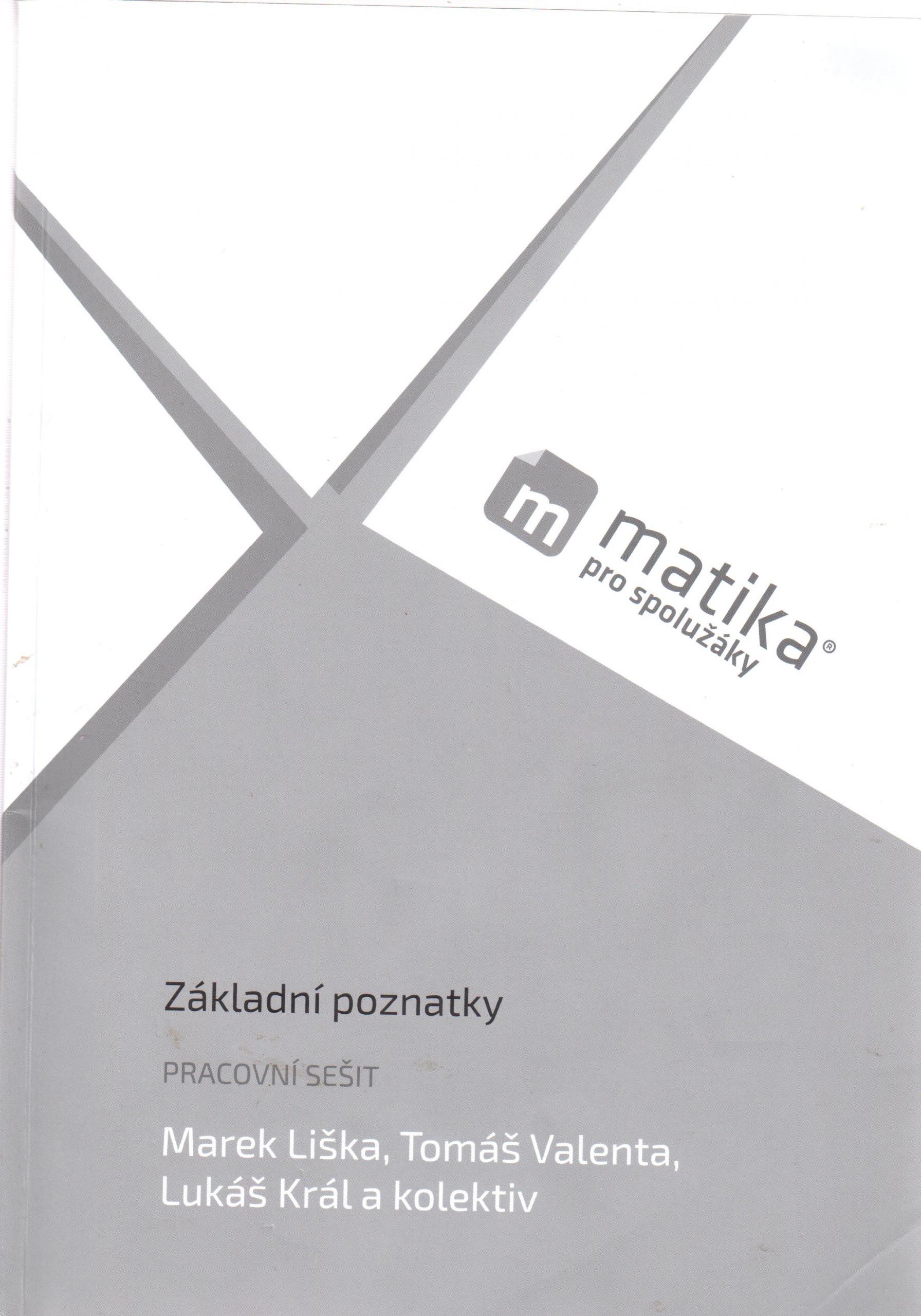 Matika pro spolužáky: Základní poznatky (pracovní sešit) - Náhled učebnice