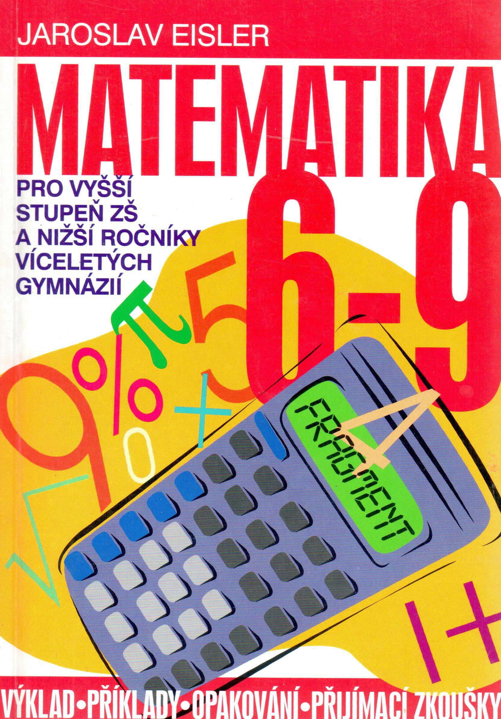 Matematika 6–9 pro vyšší stupeň ZŠ a nižší ročníky víceletých gymnázií - Náhled učebnice