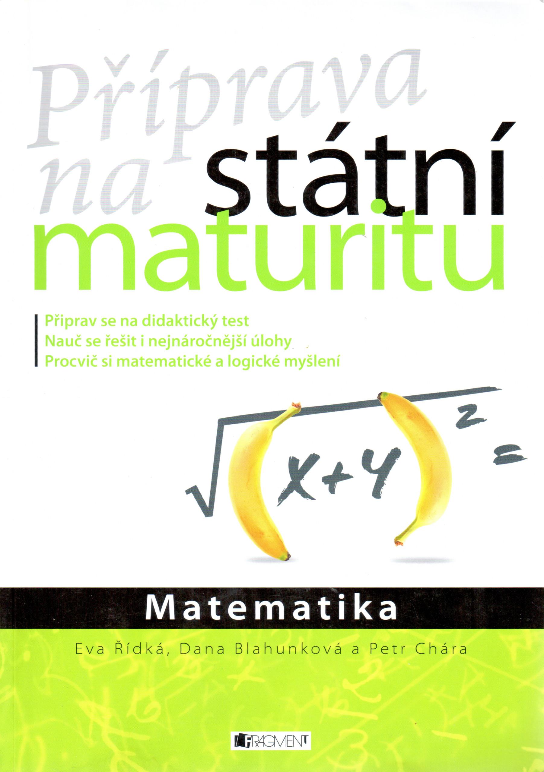 Matematika: Příprava na státní maturitu - Náhled učebnice