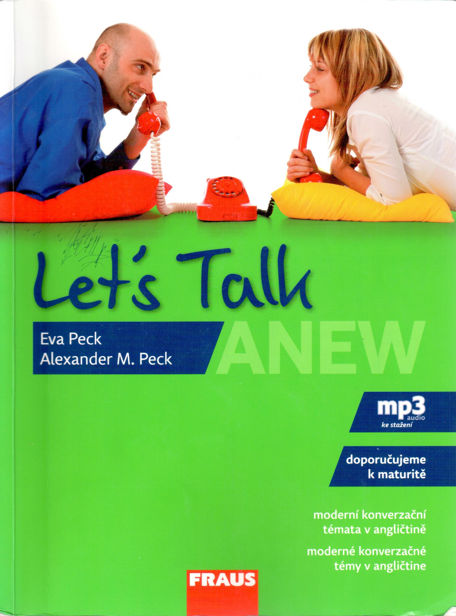 Let's Talk Anew : moderní konverzační témata v angličtině - Náhled učebnice