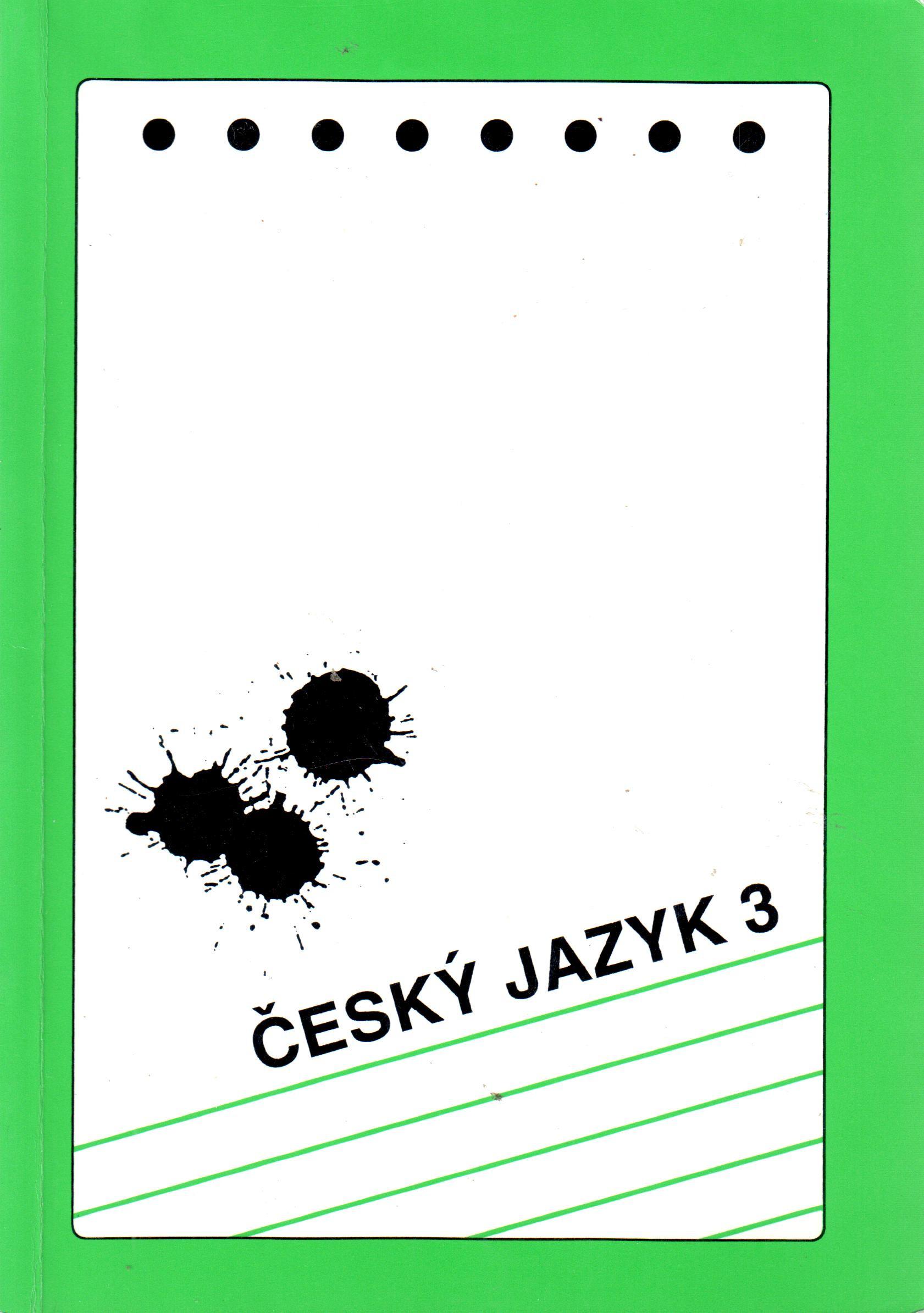 Český jazyk 3 pro 3. ročník středních škol - Náhled učebnice