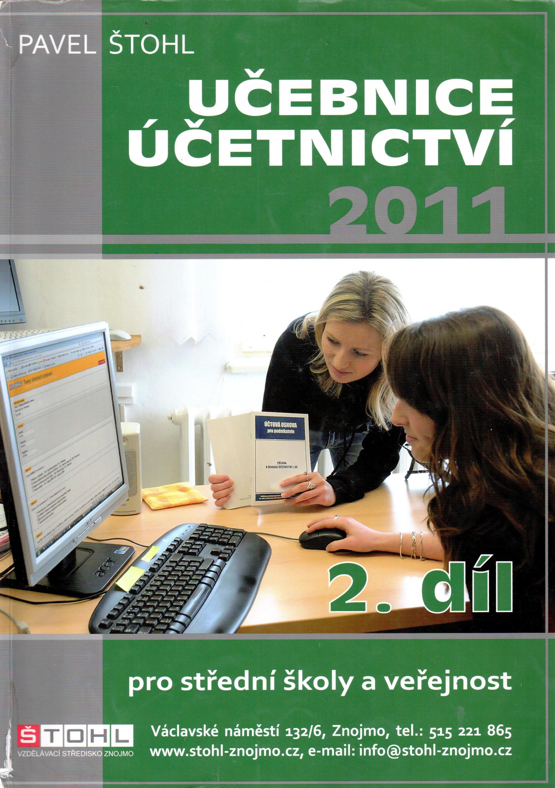 Učebnice účetnictví 2011 (2. díl) - Náhled učebnice