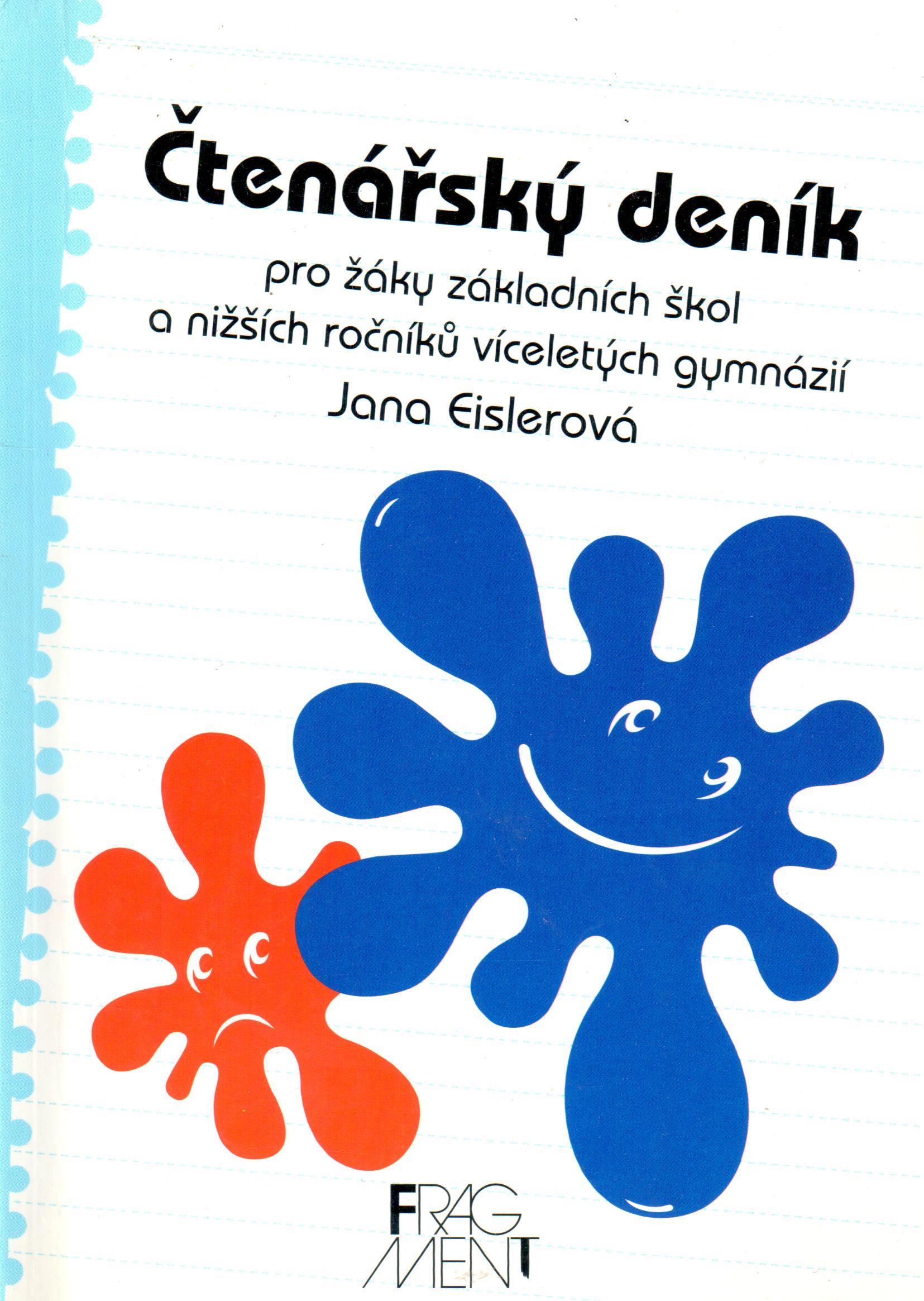 Čtenářský deník pro žáky základních škol a nižších ročníků víceletých gymnázií - Náhled učebnice