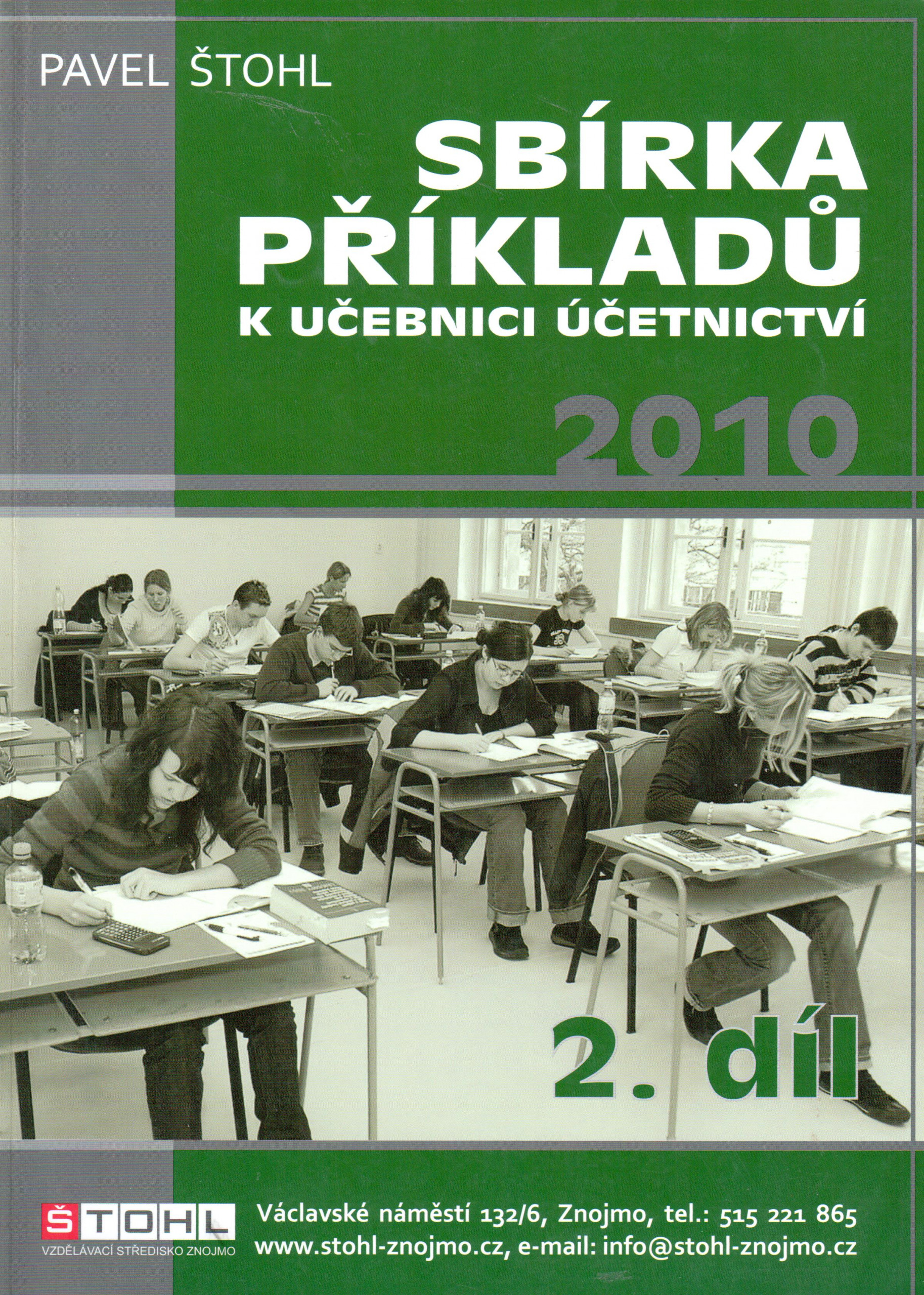 Sbírka příkladů k Učebnici účetnictví 2010 (2. díl) - Náhled učebnice