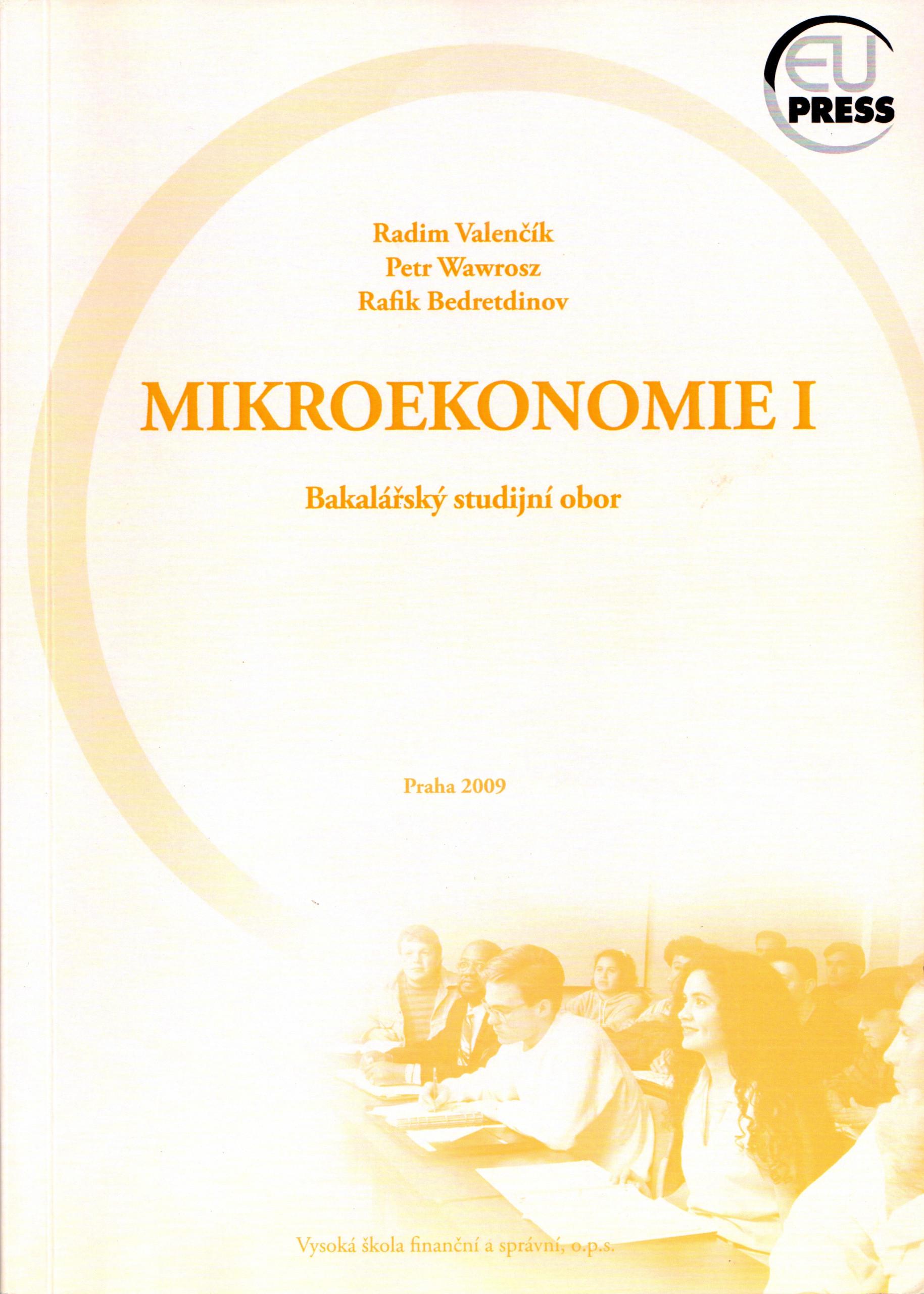 Mikroekonomie I - Náhled učebnice