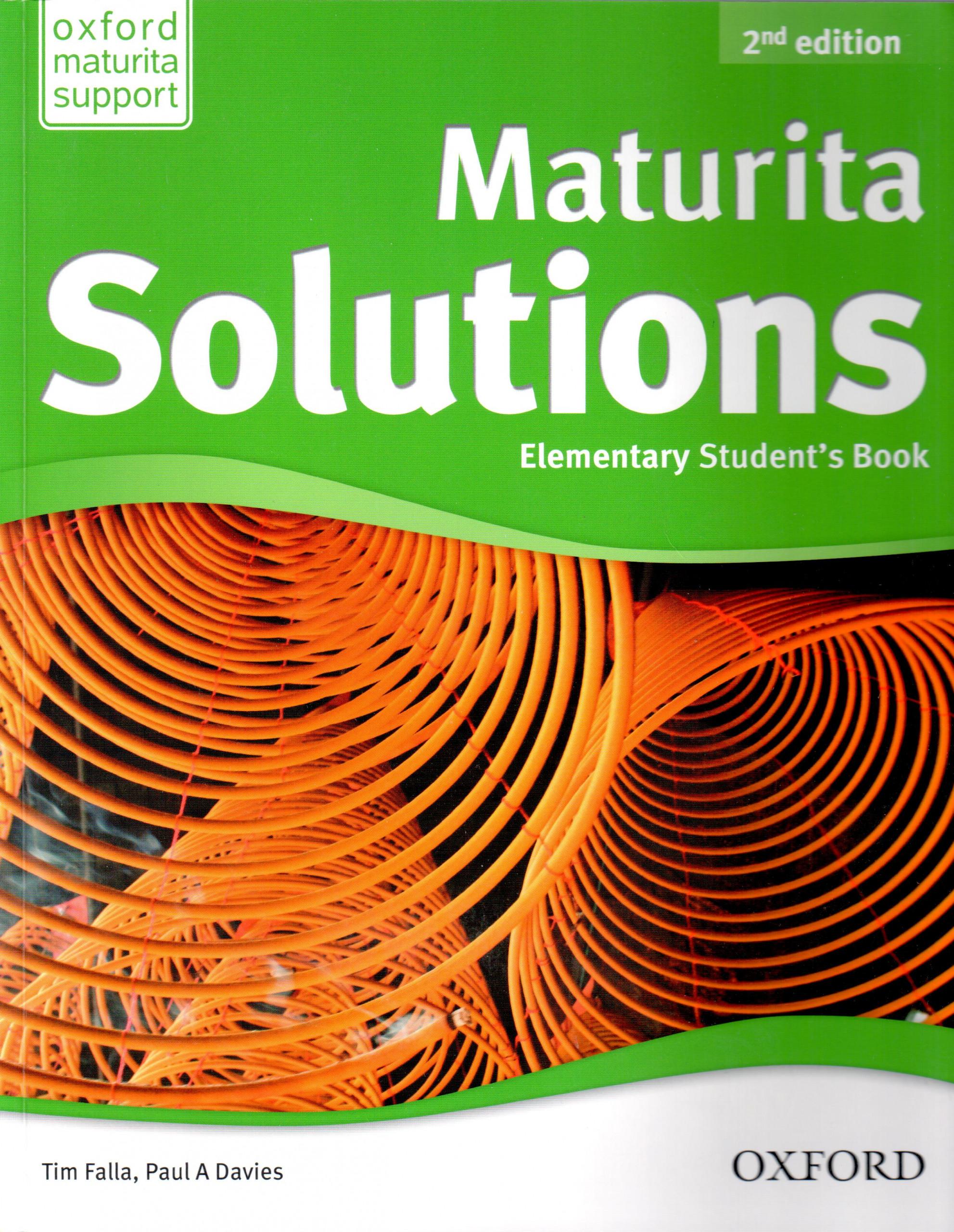 Maturita Solutions: Elementary (Student's Book) - Náhled učebnice