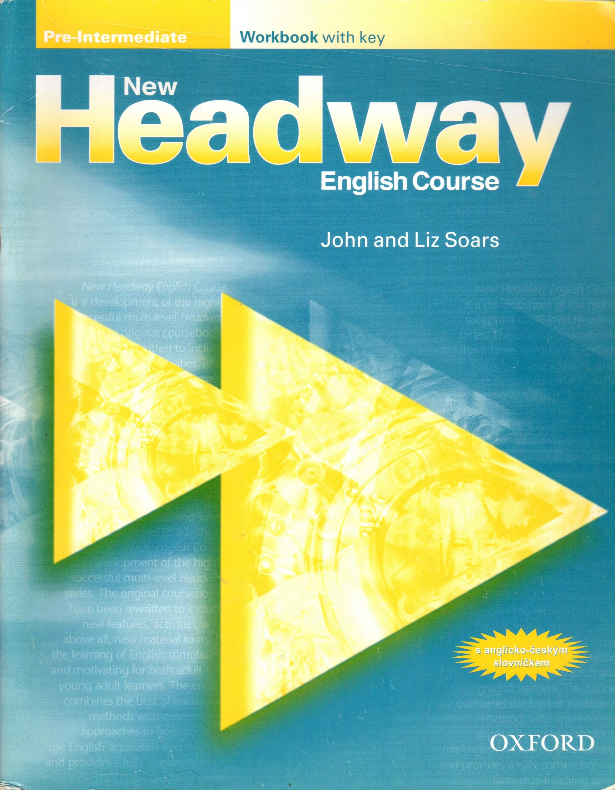 New Headway: Pre-intermediate Workbook with Key - Náhled učebnice
