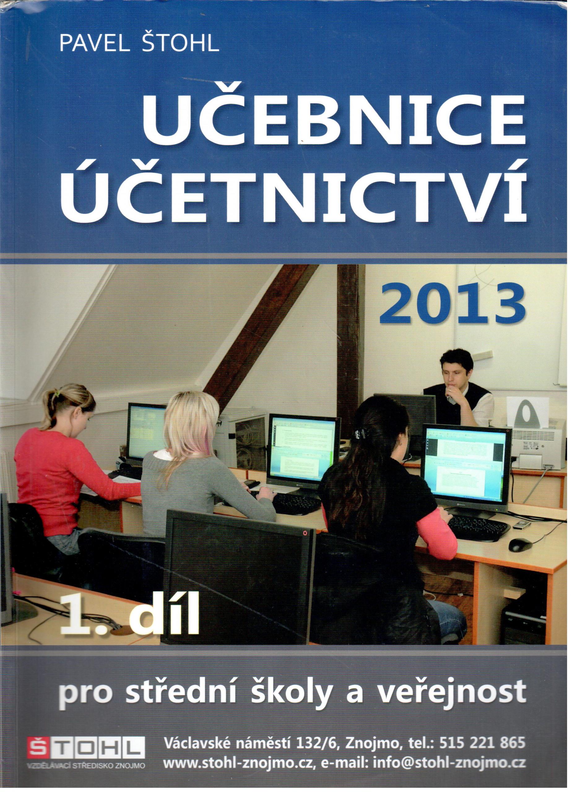 Učebnice účetnictví 2013 (1. díl) - Náhled učebnice