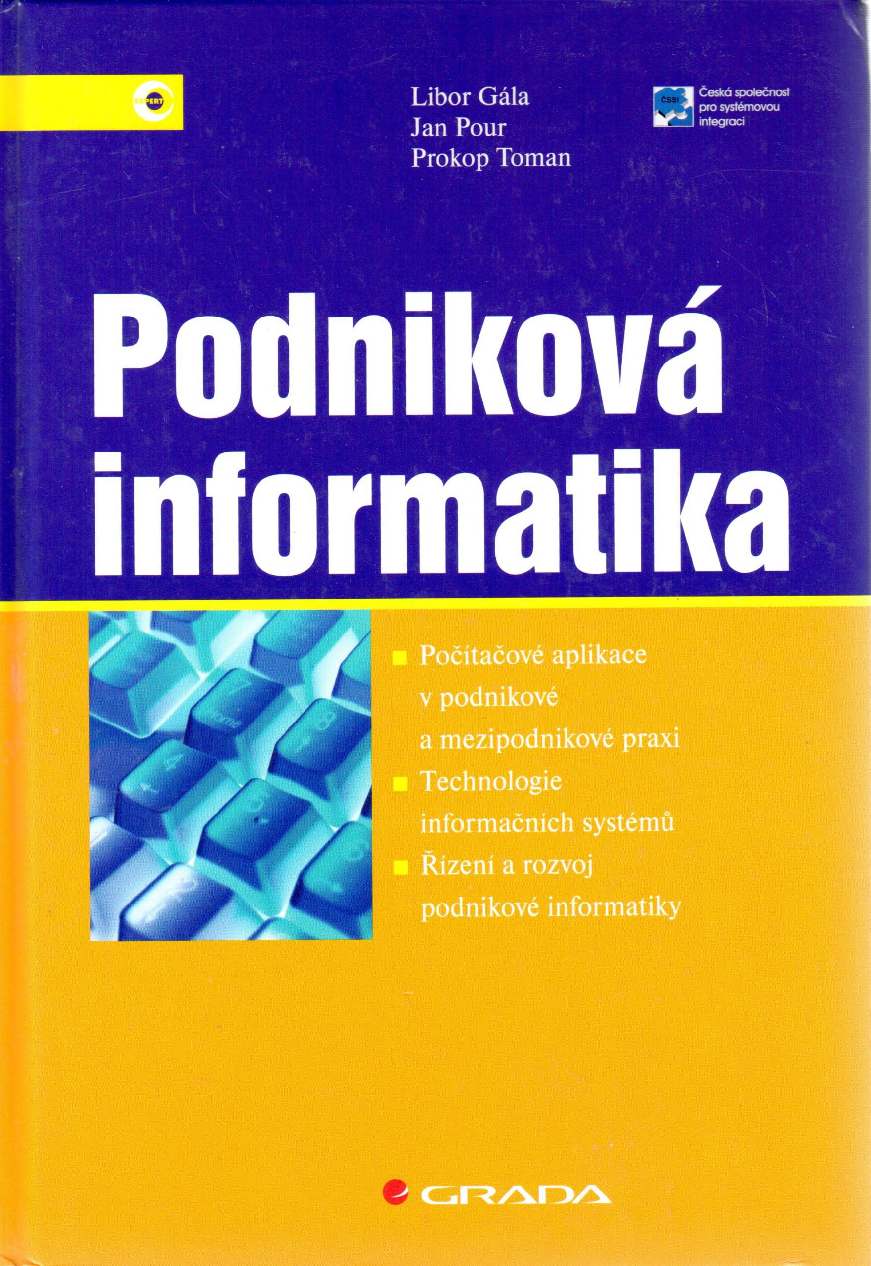 Podniková informatika - Náhled učebnice