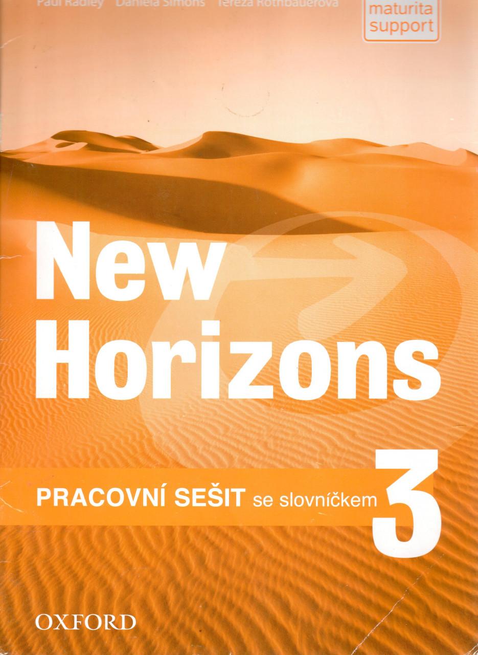 NEW HORIZONS 3 WORKBOOK (Czech Edition)