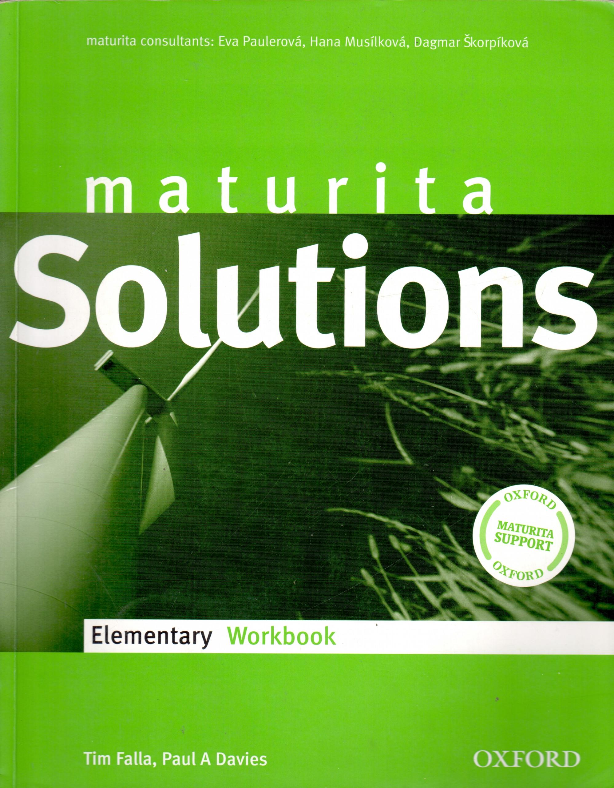 Maturita Solutions: Elementary Workbook - Náhled učebnice