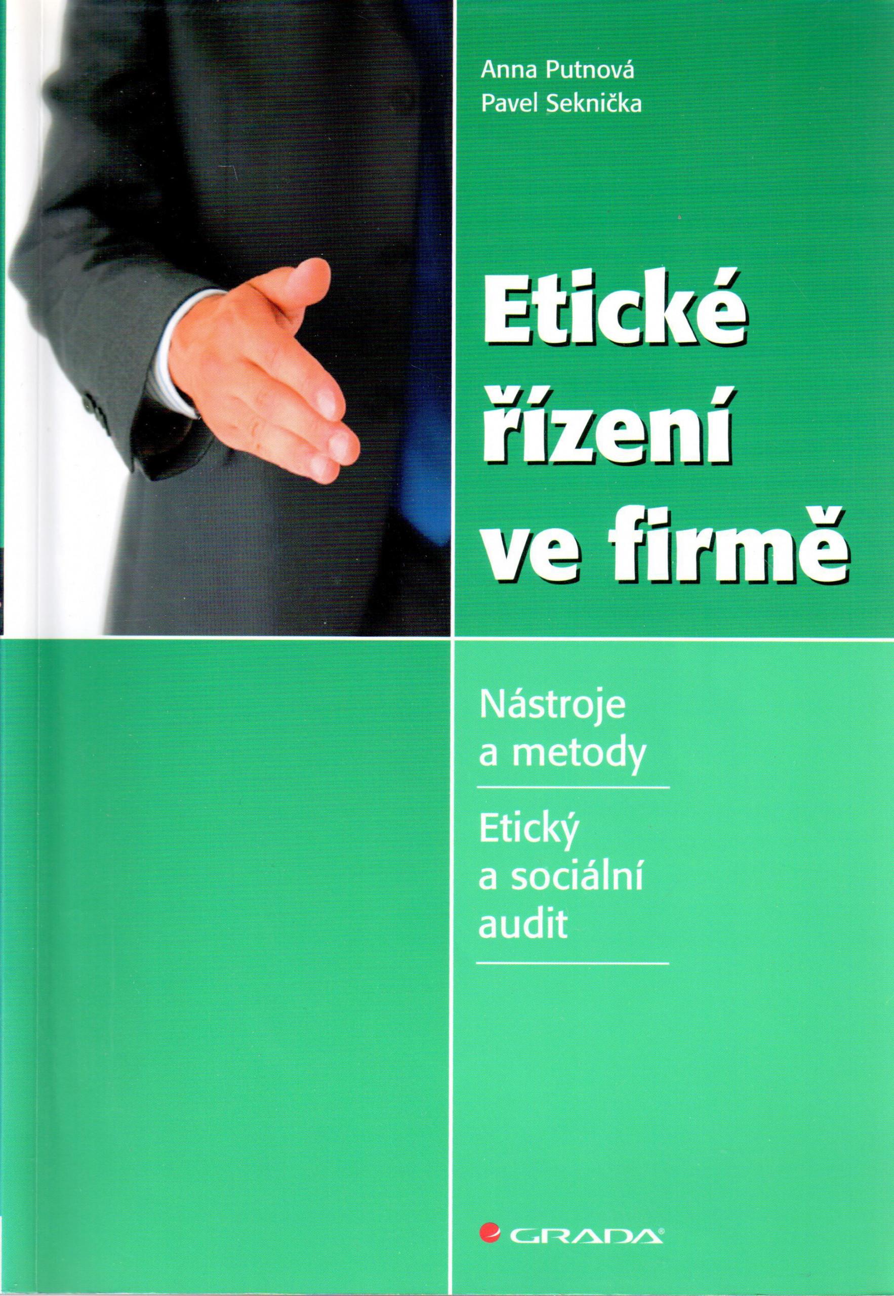 Etické řízení ve firmě - Náhled učebnice