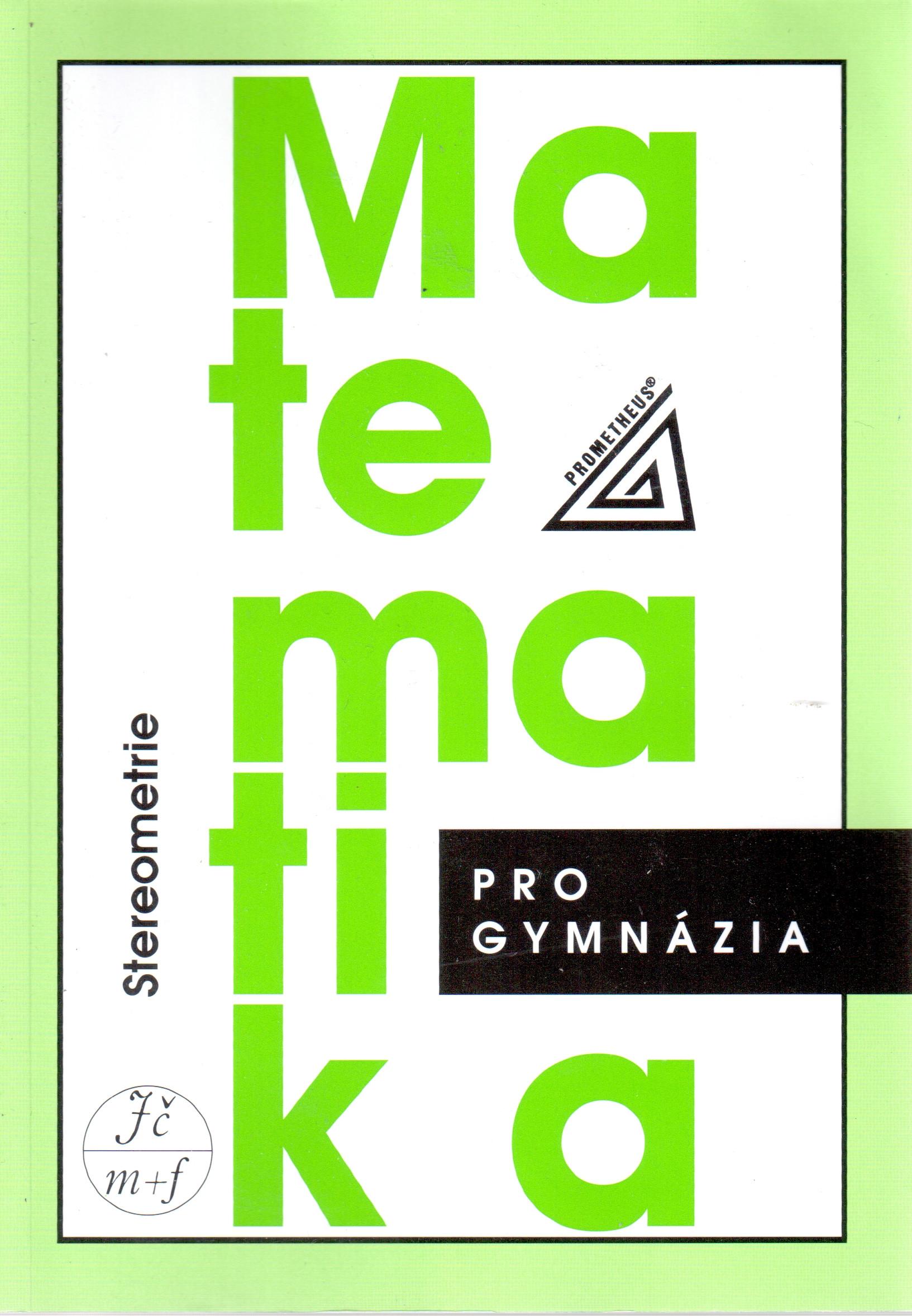 Matematika pro gymnázia : stereometrie - Náhled učebnice