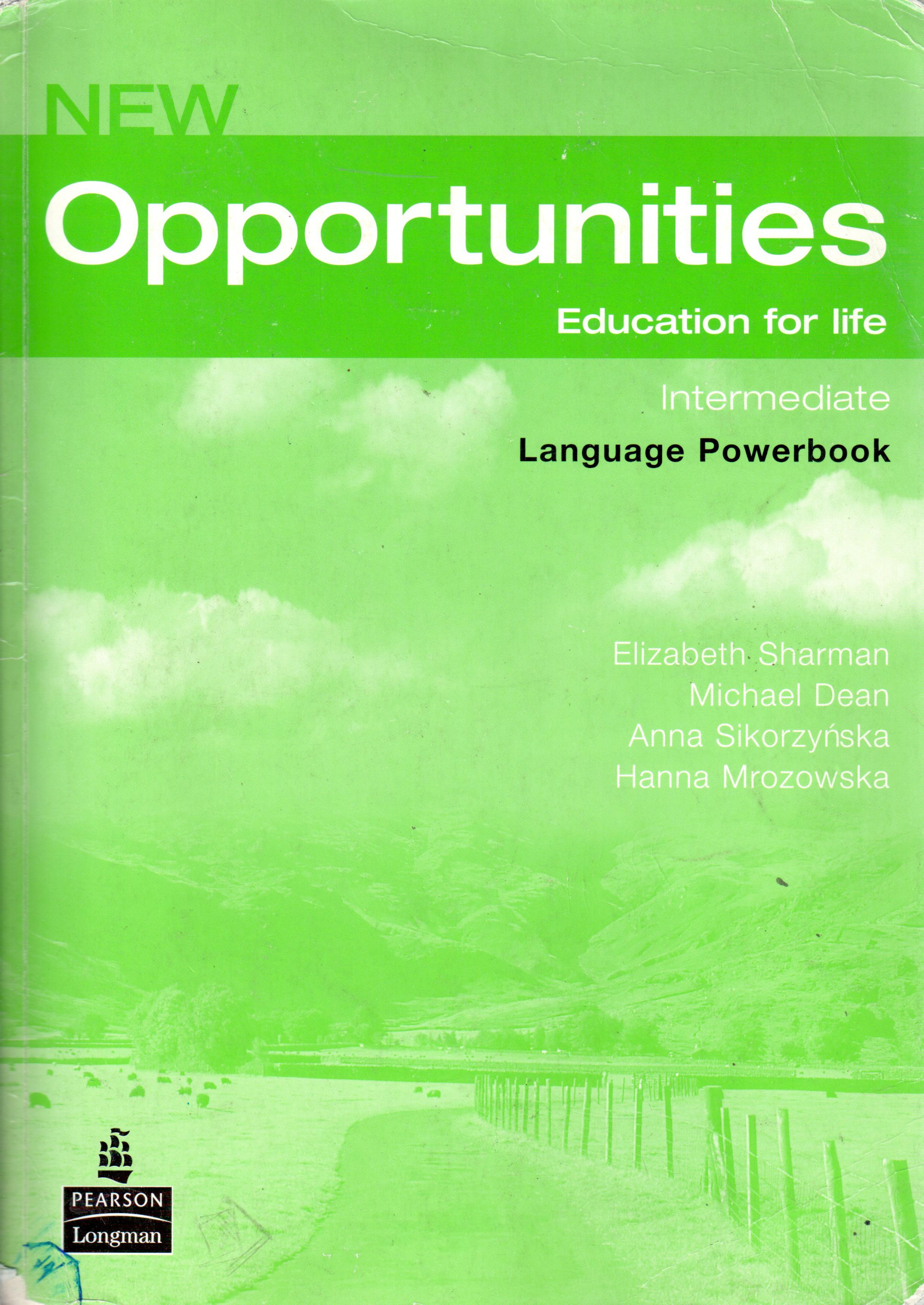 New Opportunities: Intermediate Language Powerbook - Náhled učebnice
