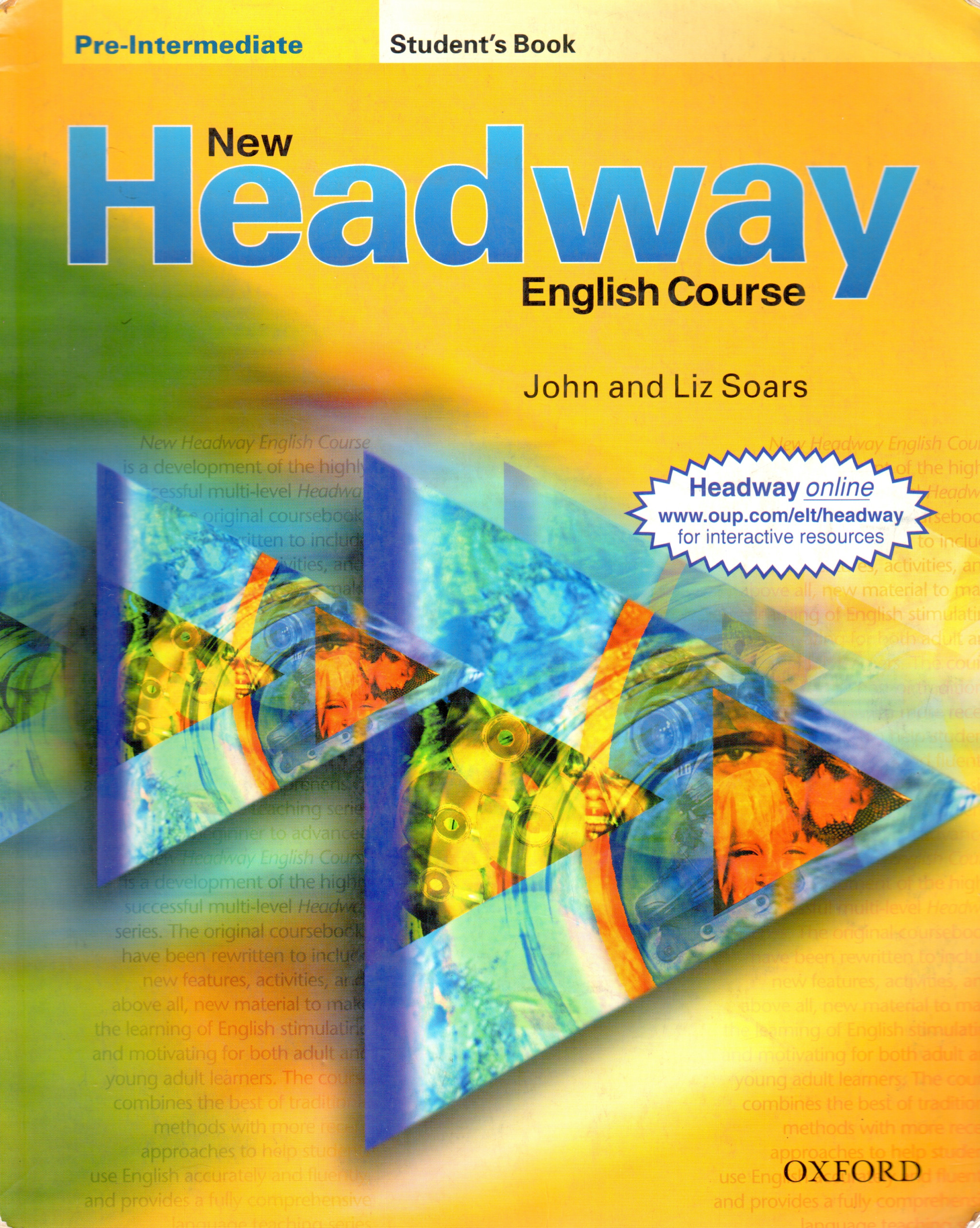 New Headway: Pre-Intermediate Student's Book - Náhled učebnice