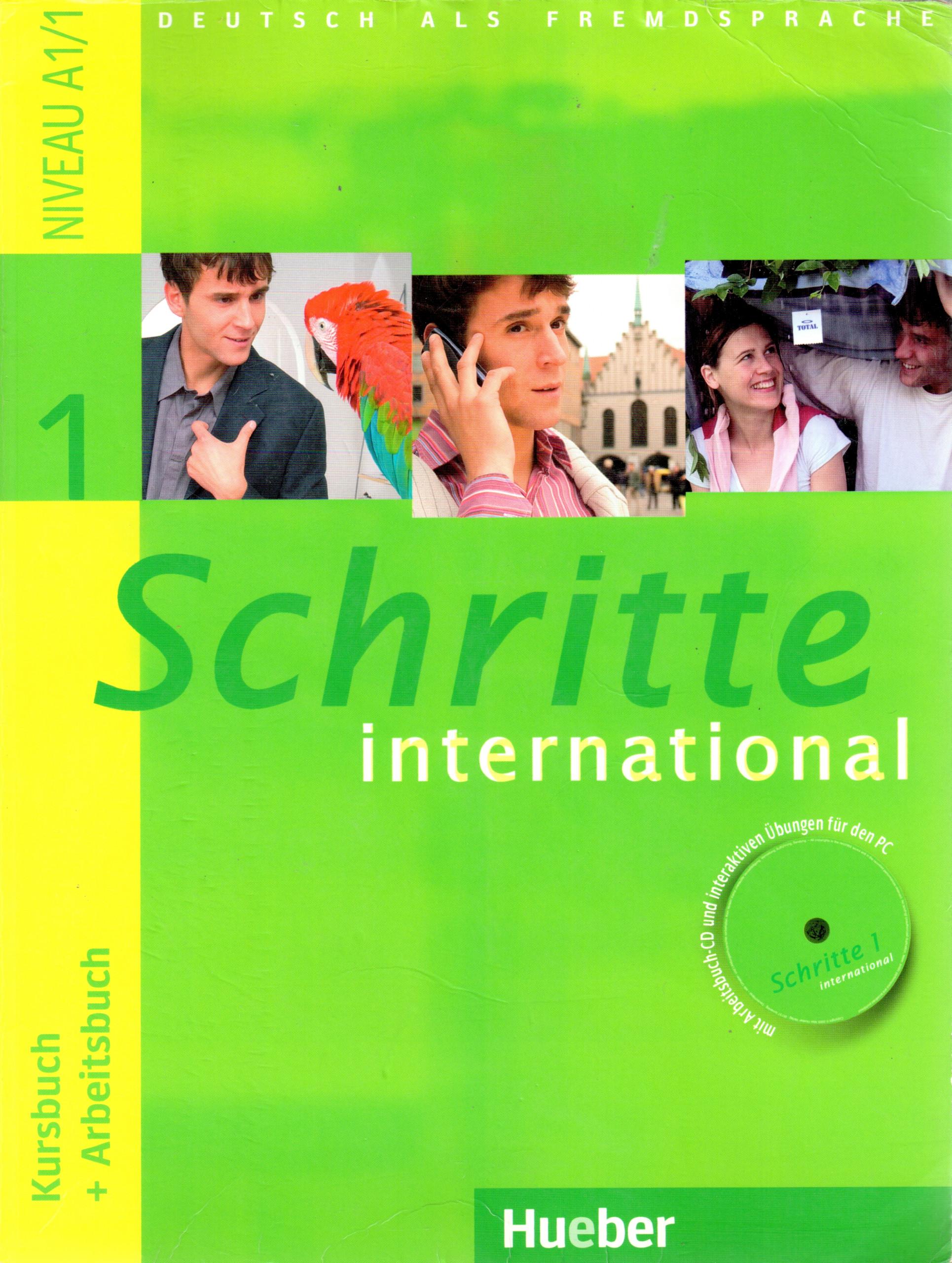 Schritte International 1: Kursbuch + Arbeitsbuch - Náhled učebnice
