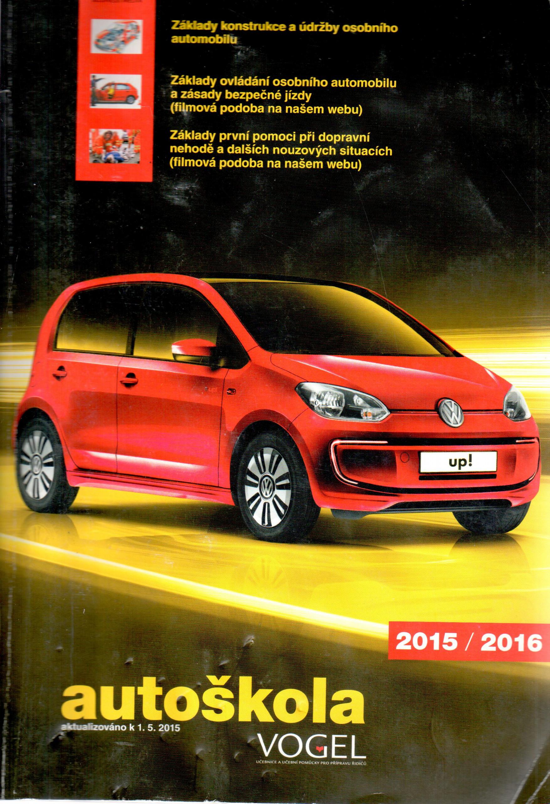 Autoškola Vogel 2015/2016 - Náhled učebnice