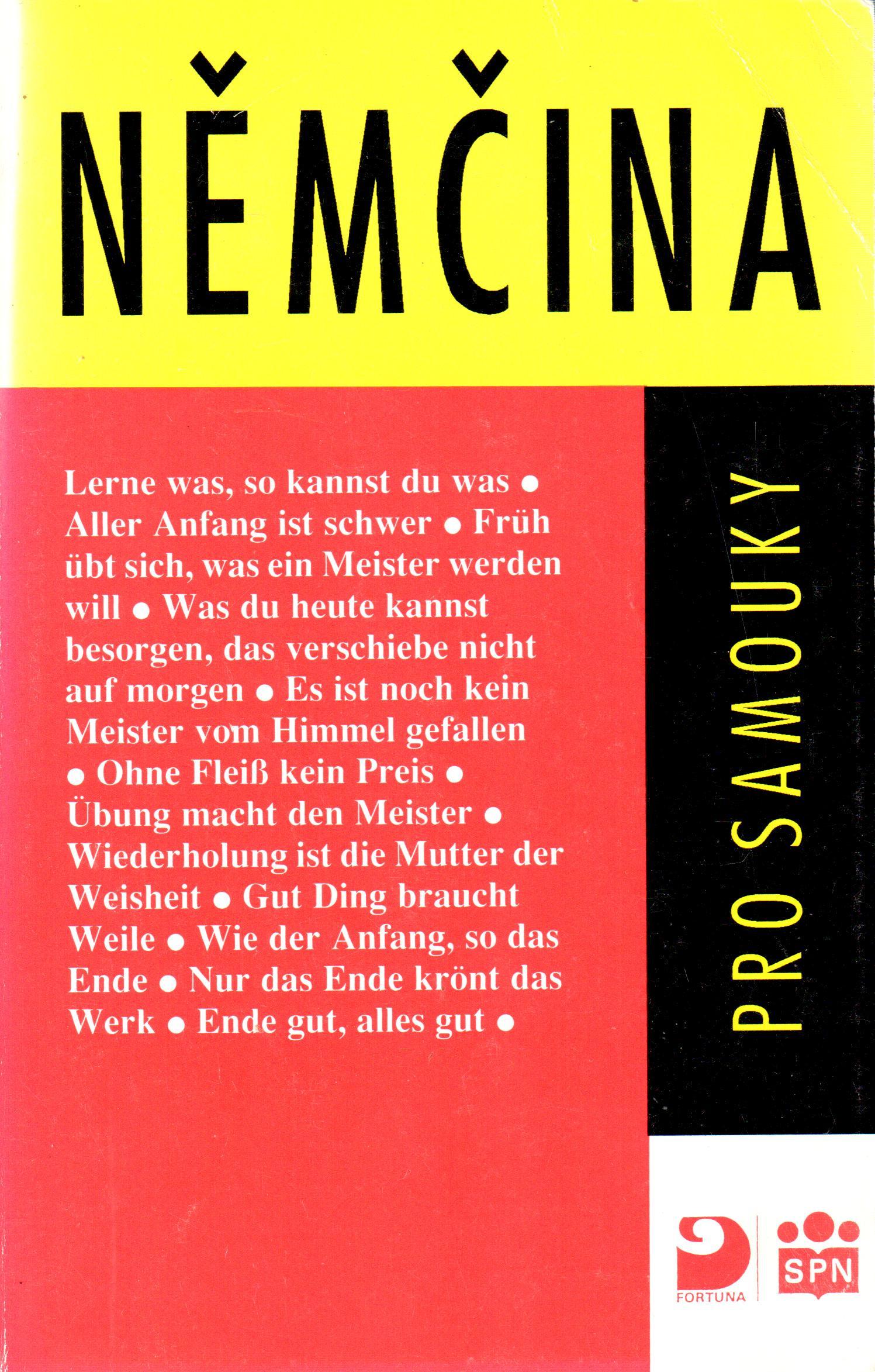 Němčina pro samouky - Náhled učebnice