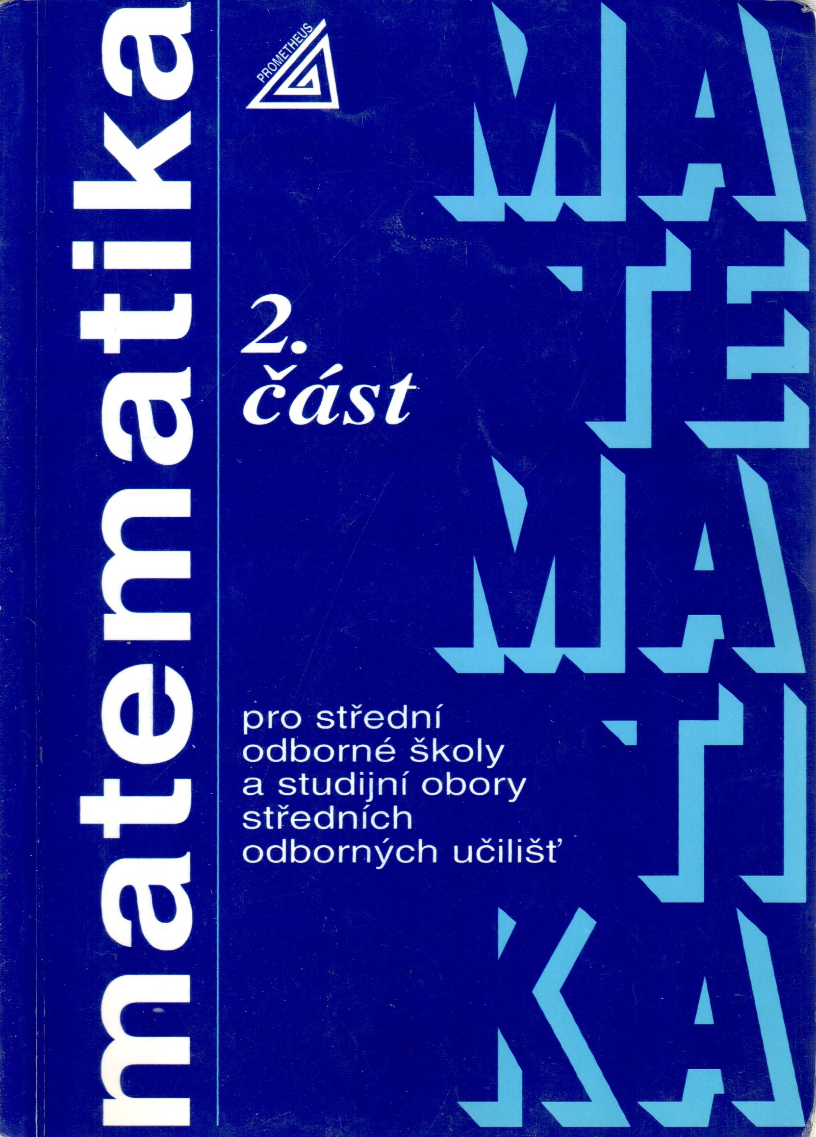 Matematika pro SOŠ a studijní obory SOU (2. část) - Náhled učebnice