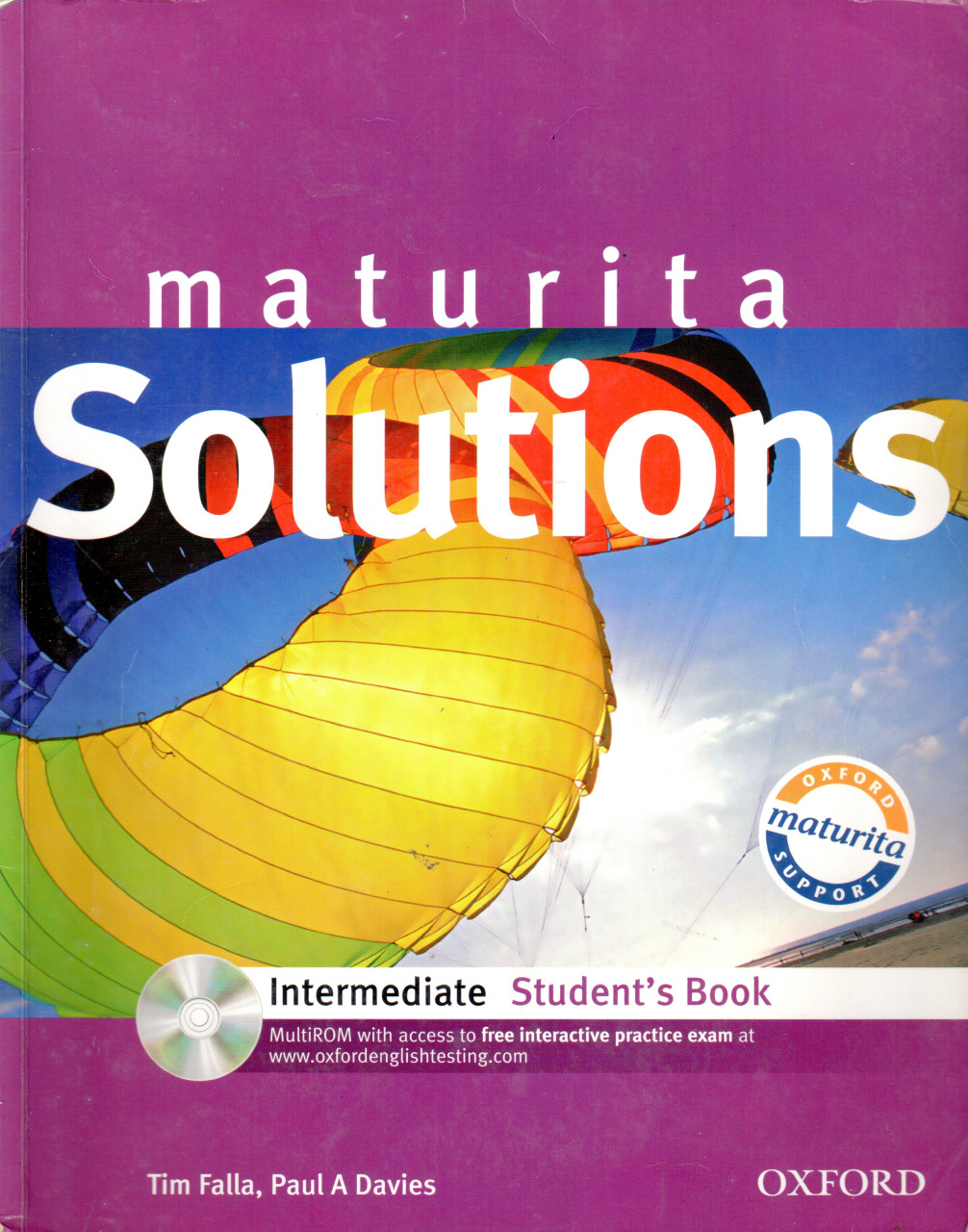Maturita Solutions: Intermediate Student's Book