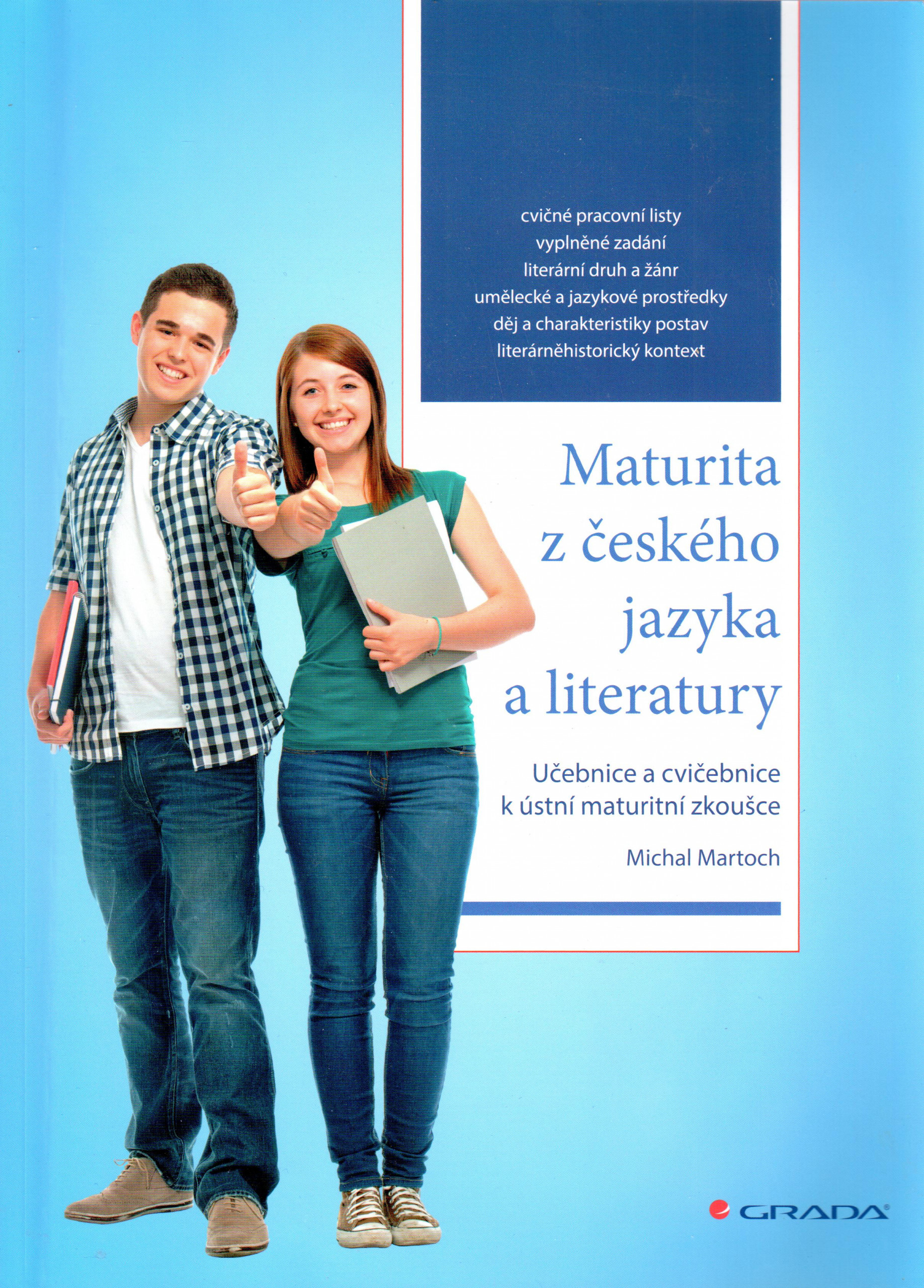 Maturita z českého jazyka a literatury - Náhled učebnice