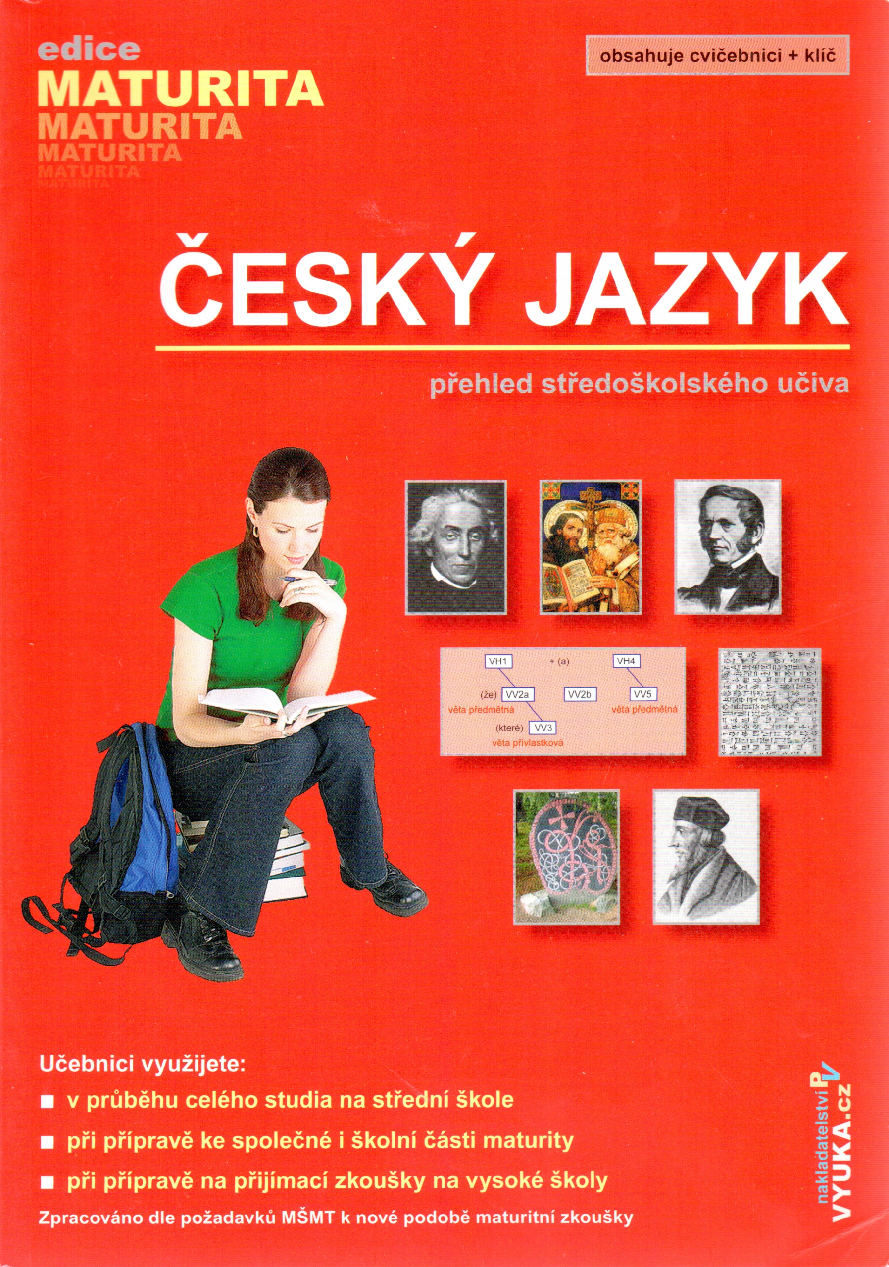 Český jazyk - přehled středoškolského učiva - Náhled učebnice