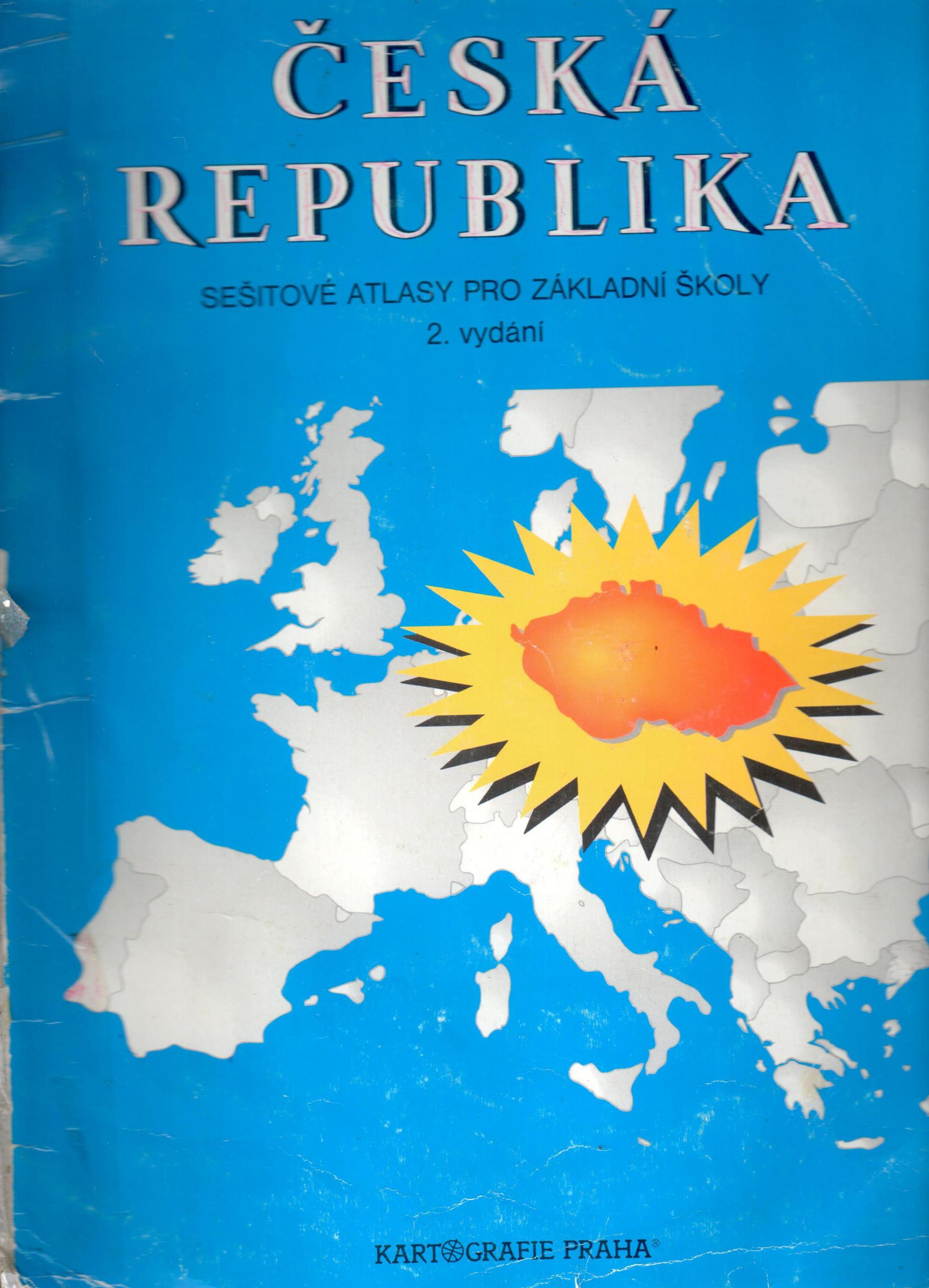 Česká Republika, Sešitové atlasy pro základni školy - Náhled učebnice